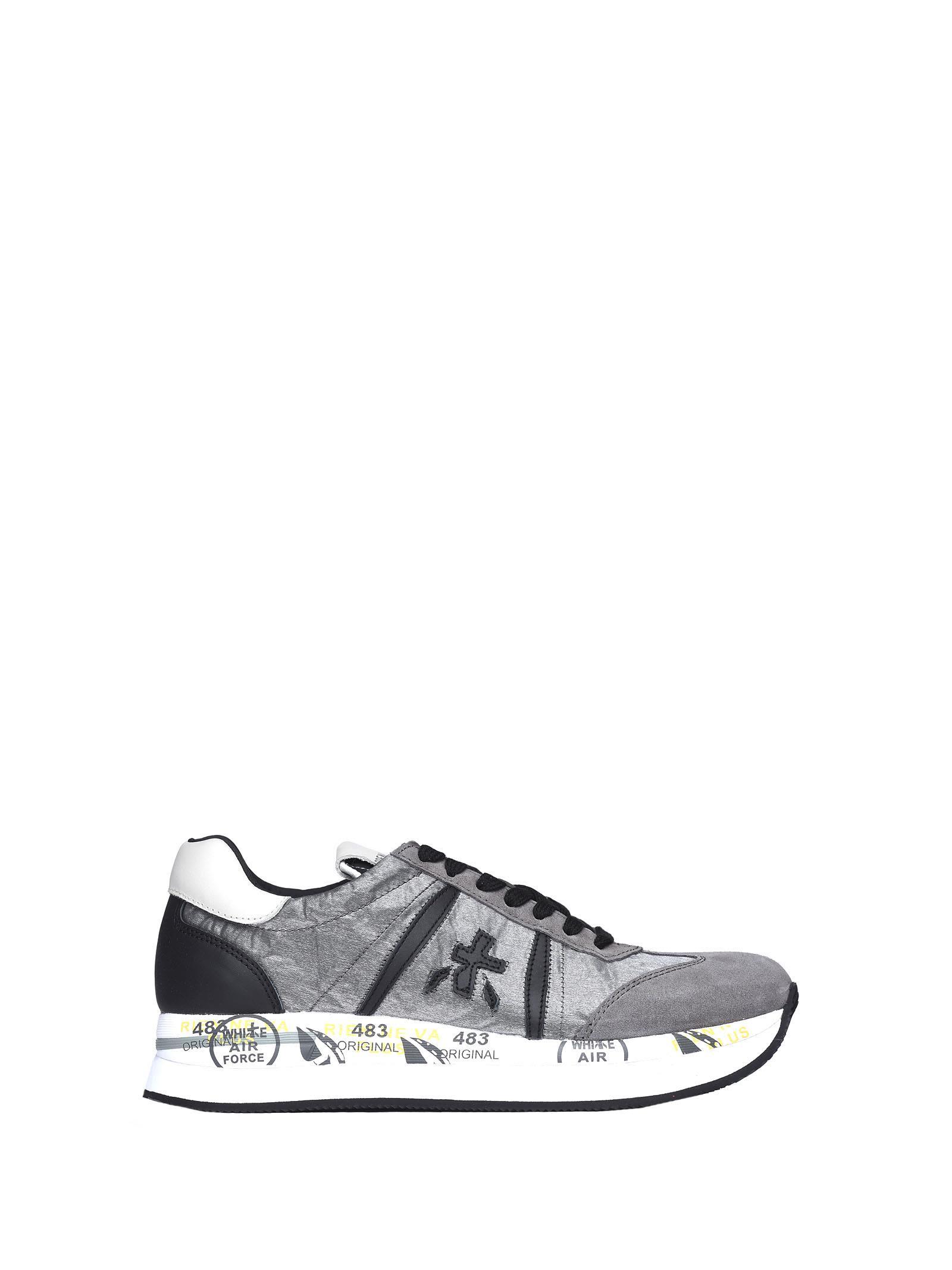 Premiata Conny 1493 Grey Sneakers