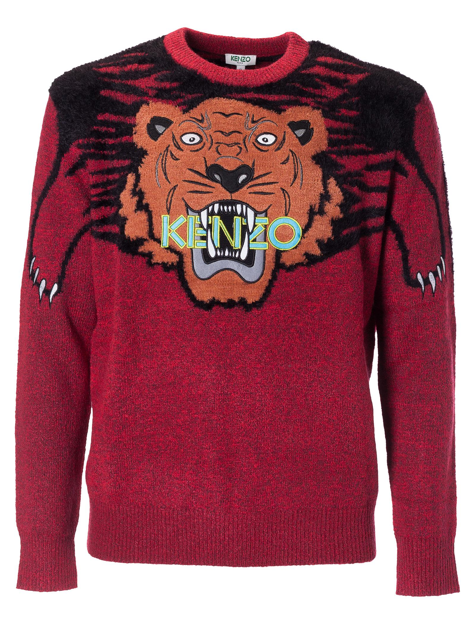 Kenzo Tiger Logo Knitted Sweater