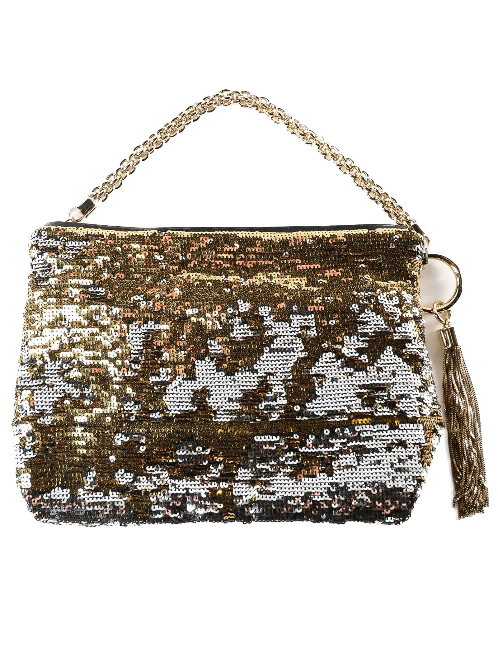 Jimmy Choo Callie Sequin Clutch
