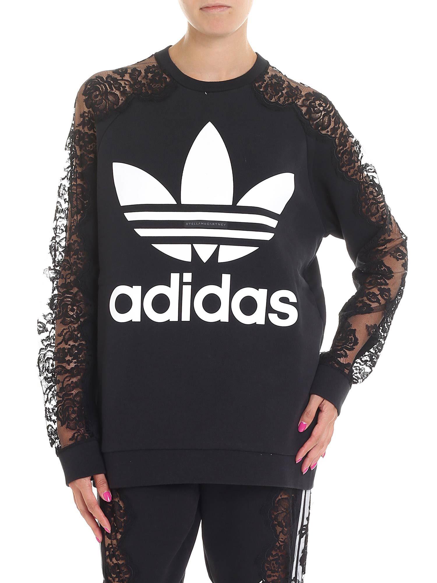 Stella McCartney Adidas Logo Sweatshirt