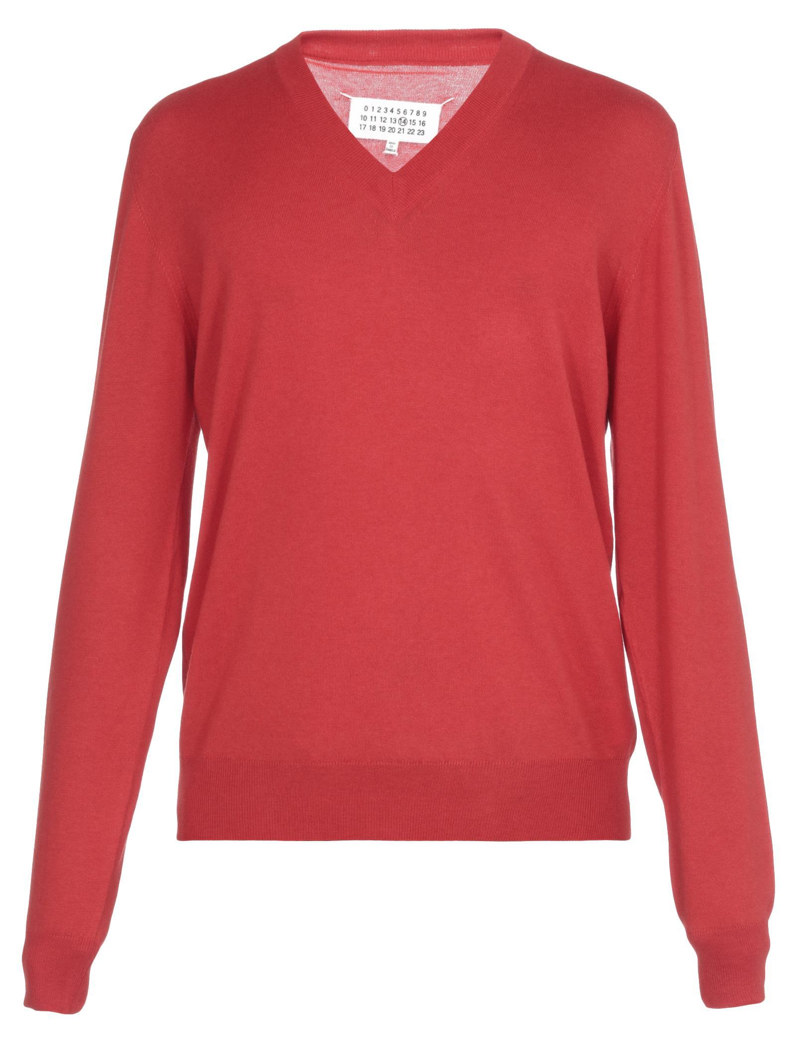 Maison Margiela Cotton And Wool Sweater
