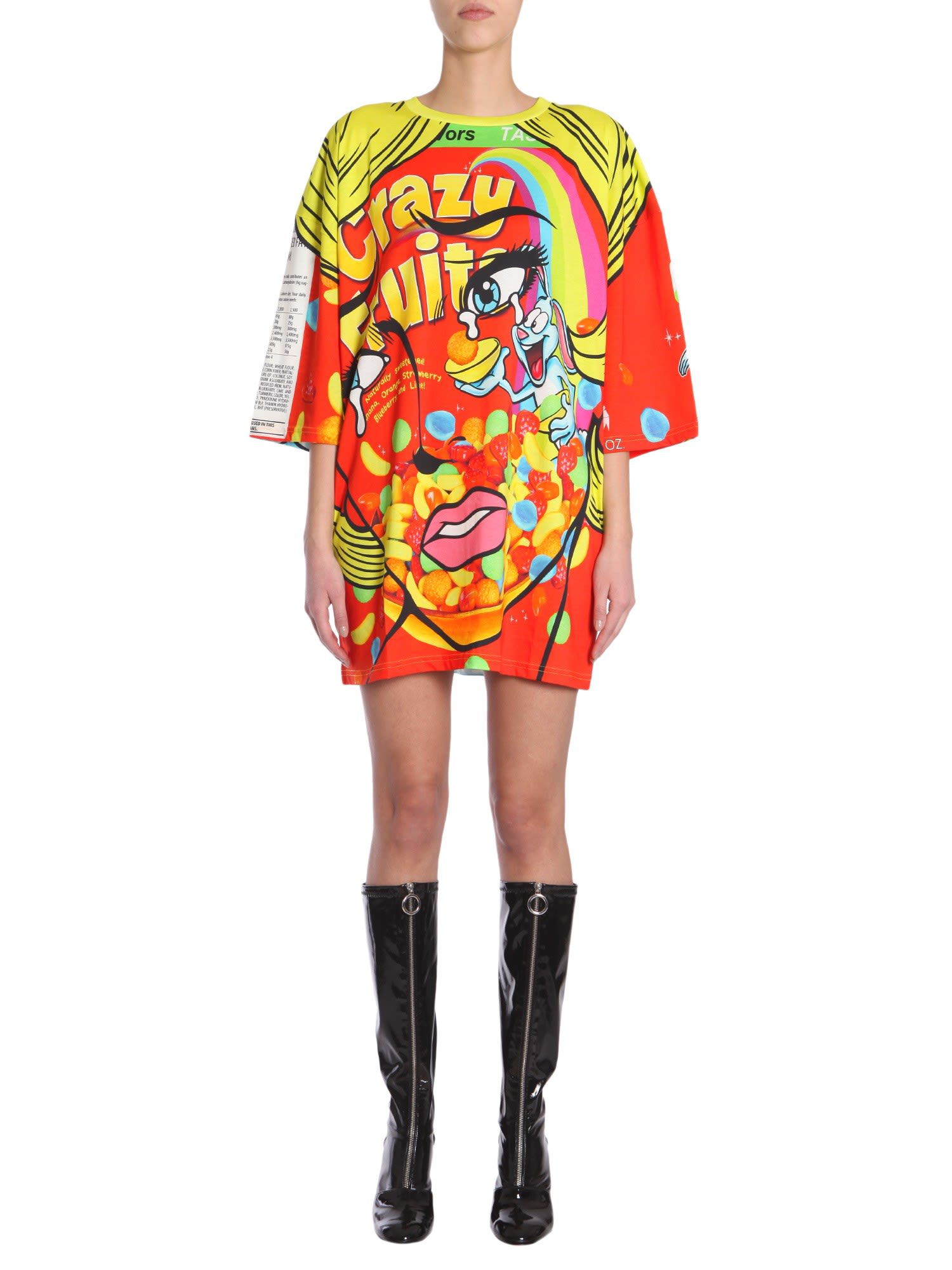 Moschino Oversize Fit Dress