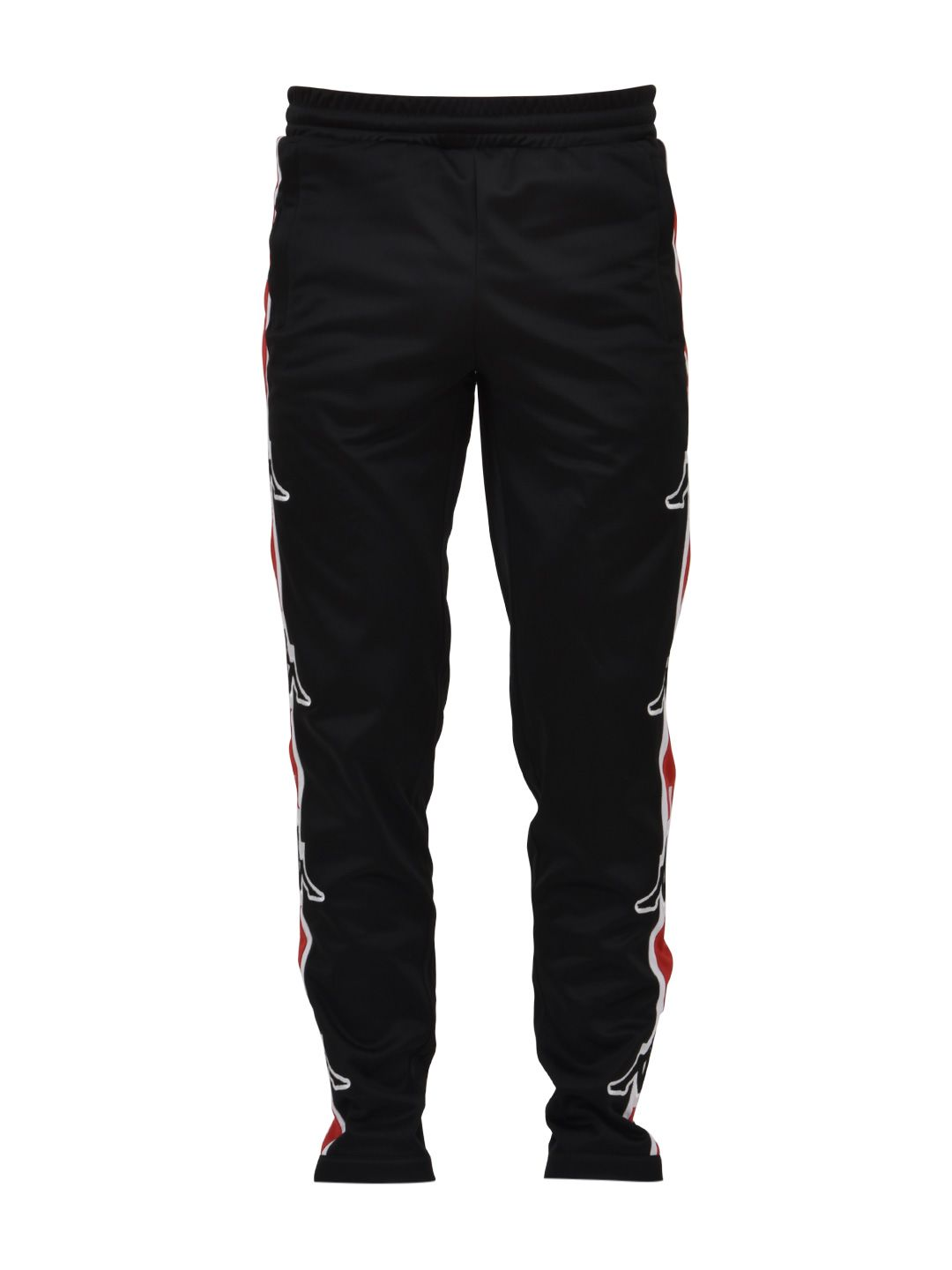 Marcelo Burlon Black Kappa Pants