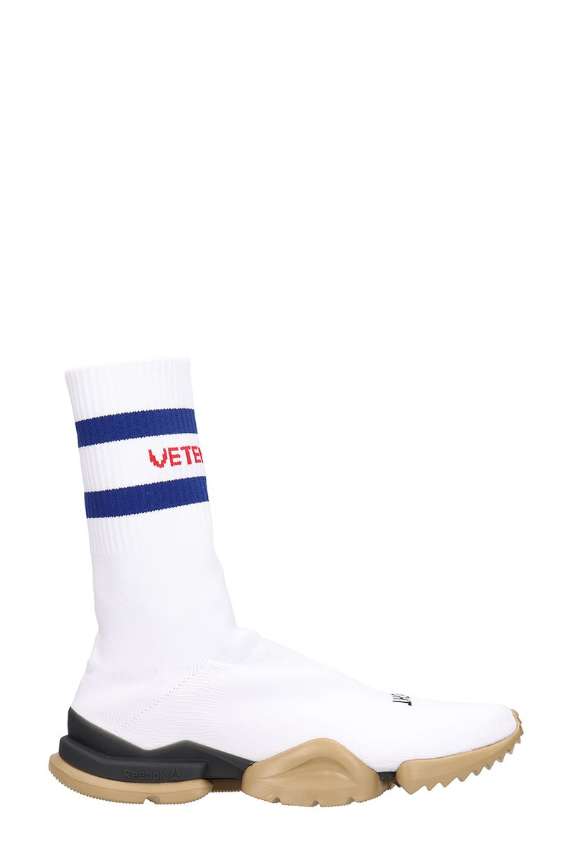 vetements -  White Fabric Sock Boots Sneakers