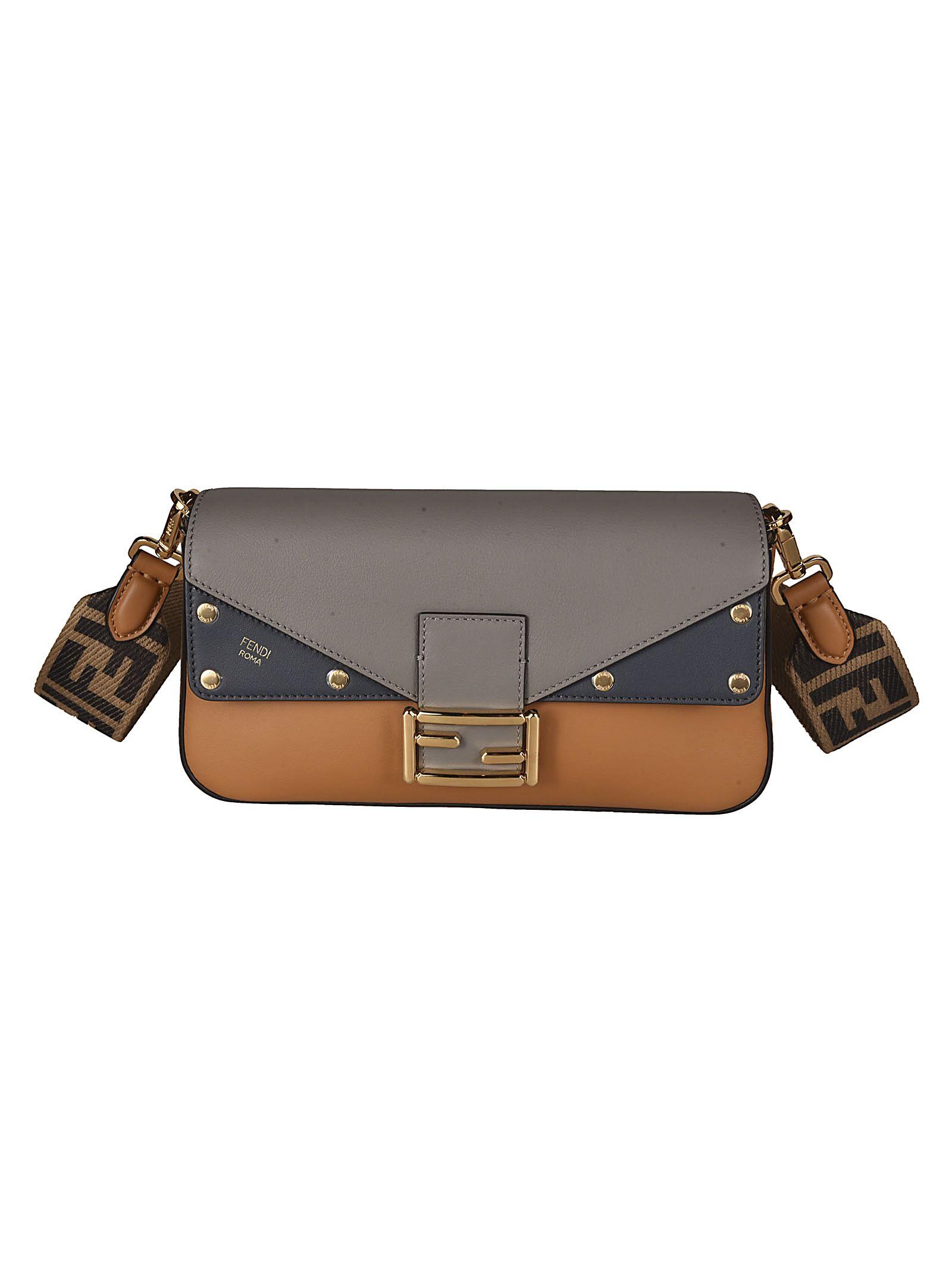Fendi Baguette Ff Shoulder Bag
