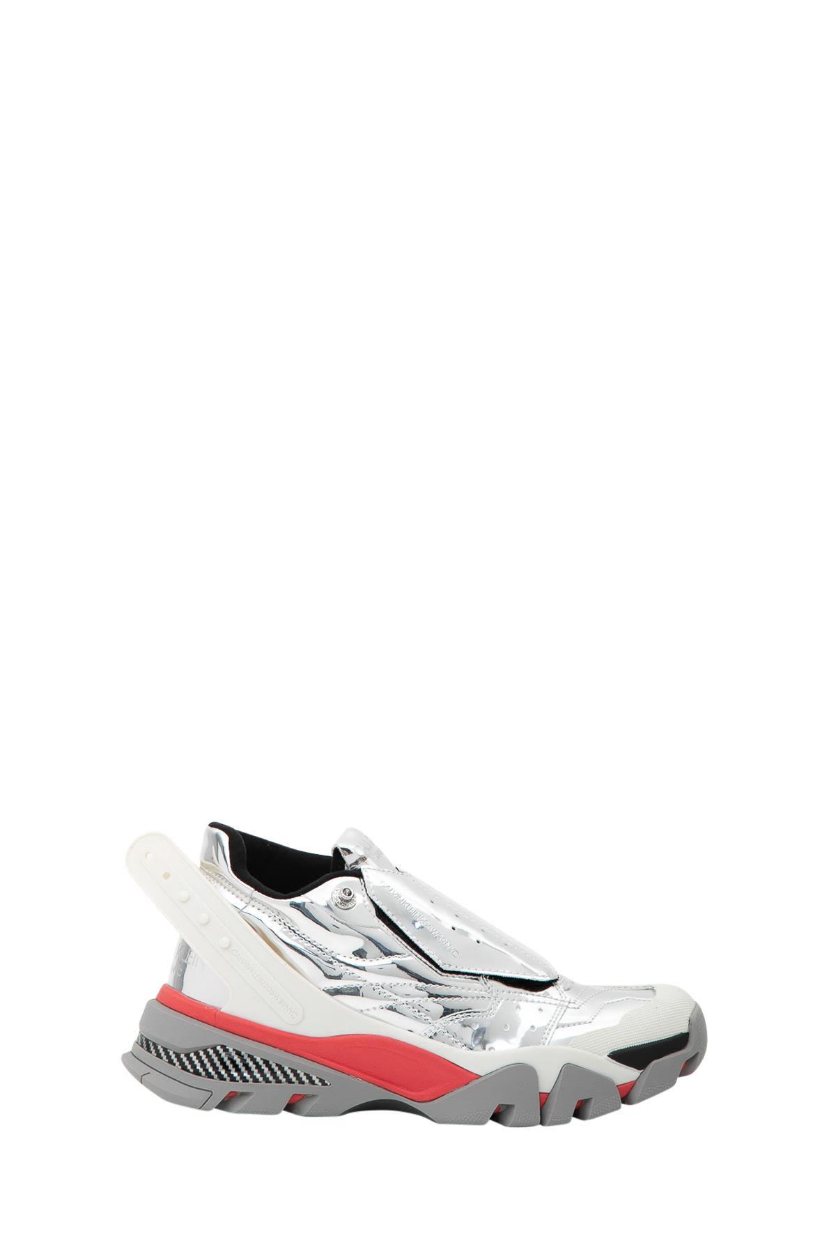 Calvin Klein Carlos 10 Metallic Sneakers