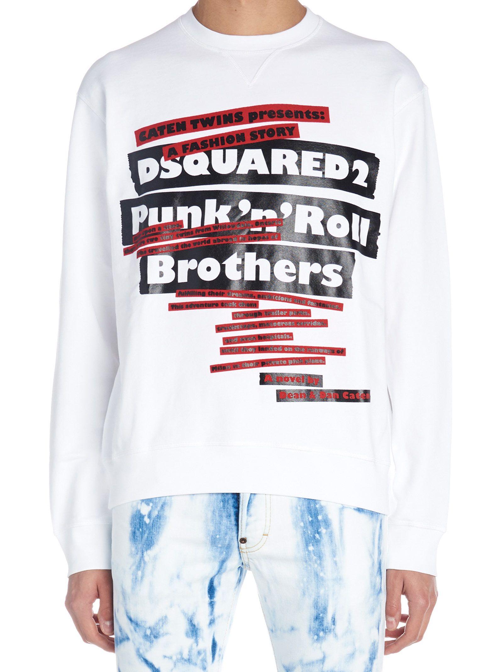 Dsquared2 'logo Punk' Sweatshirt