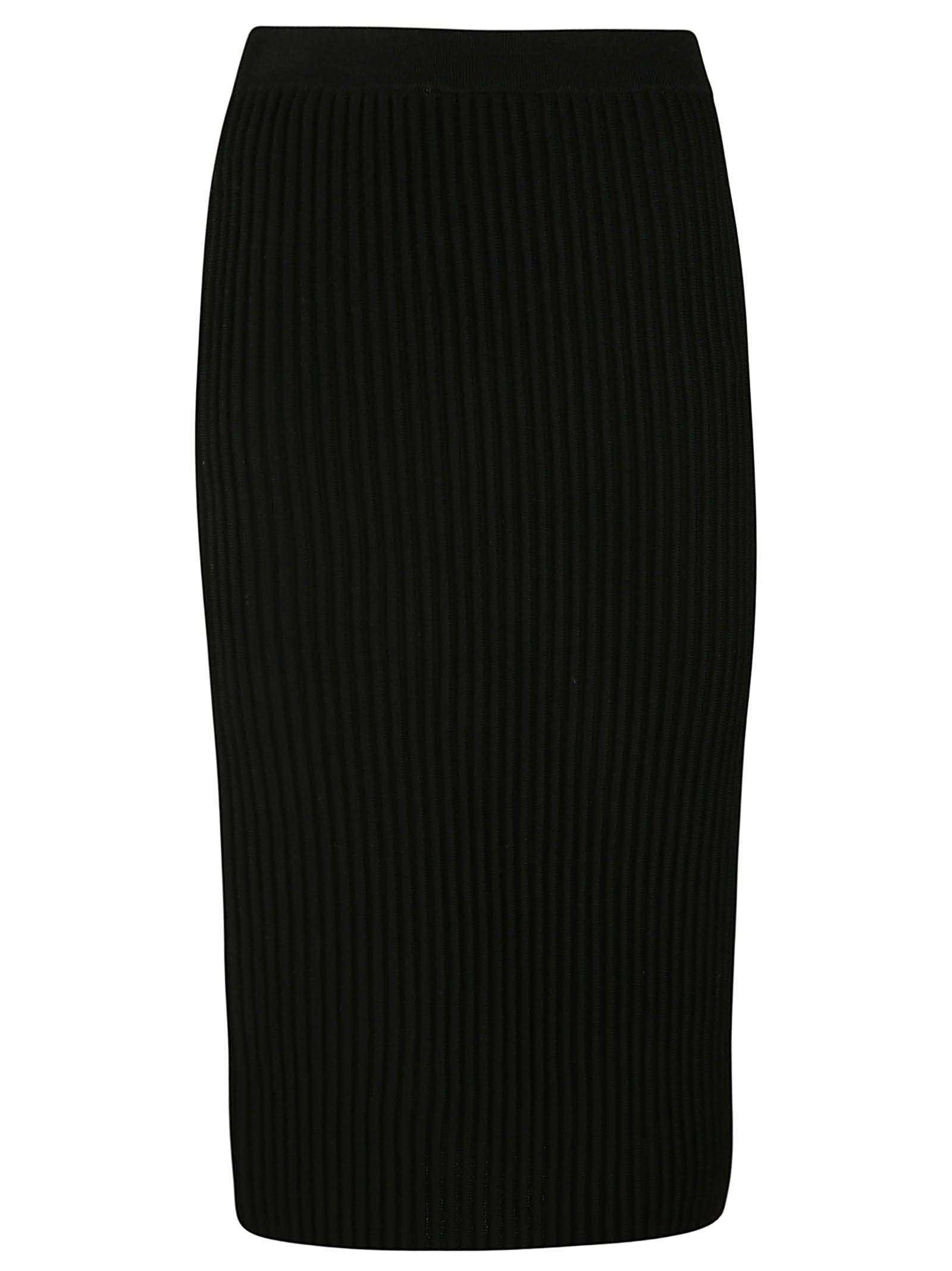 Victoria Beckham Ribbed Skirt