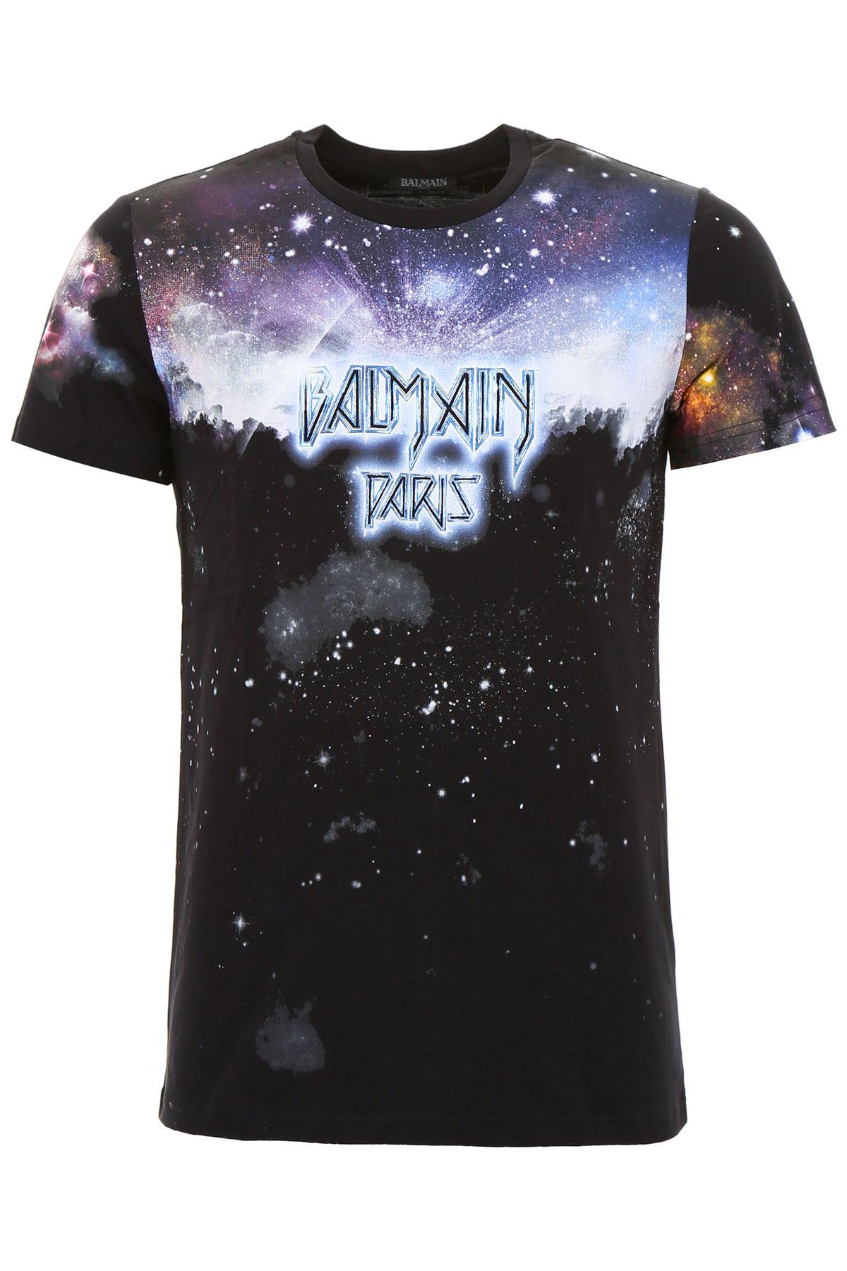 Balmain Galaxy Print T-shirt