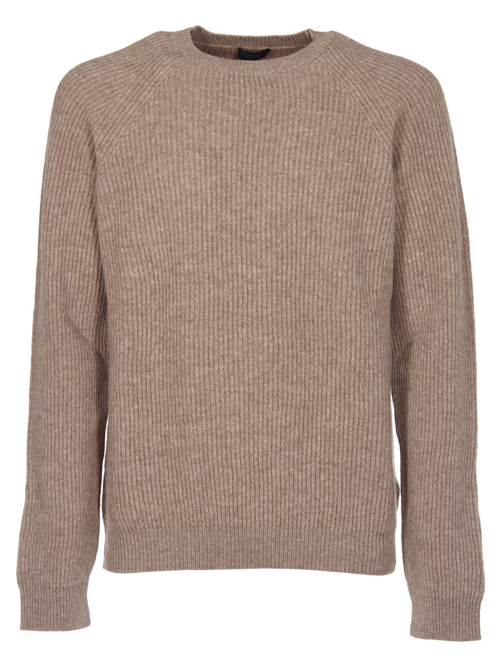 Zanone Ribbed Knit Sweater