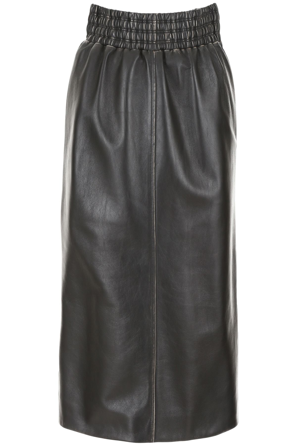 Miu Miu Leather Skirt