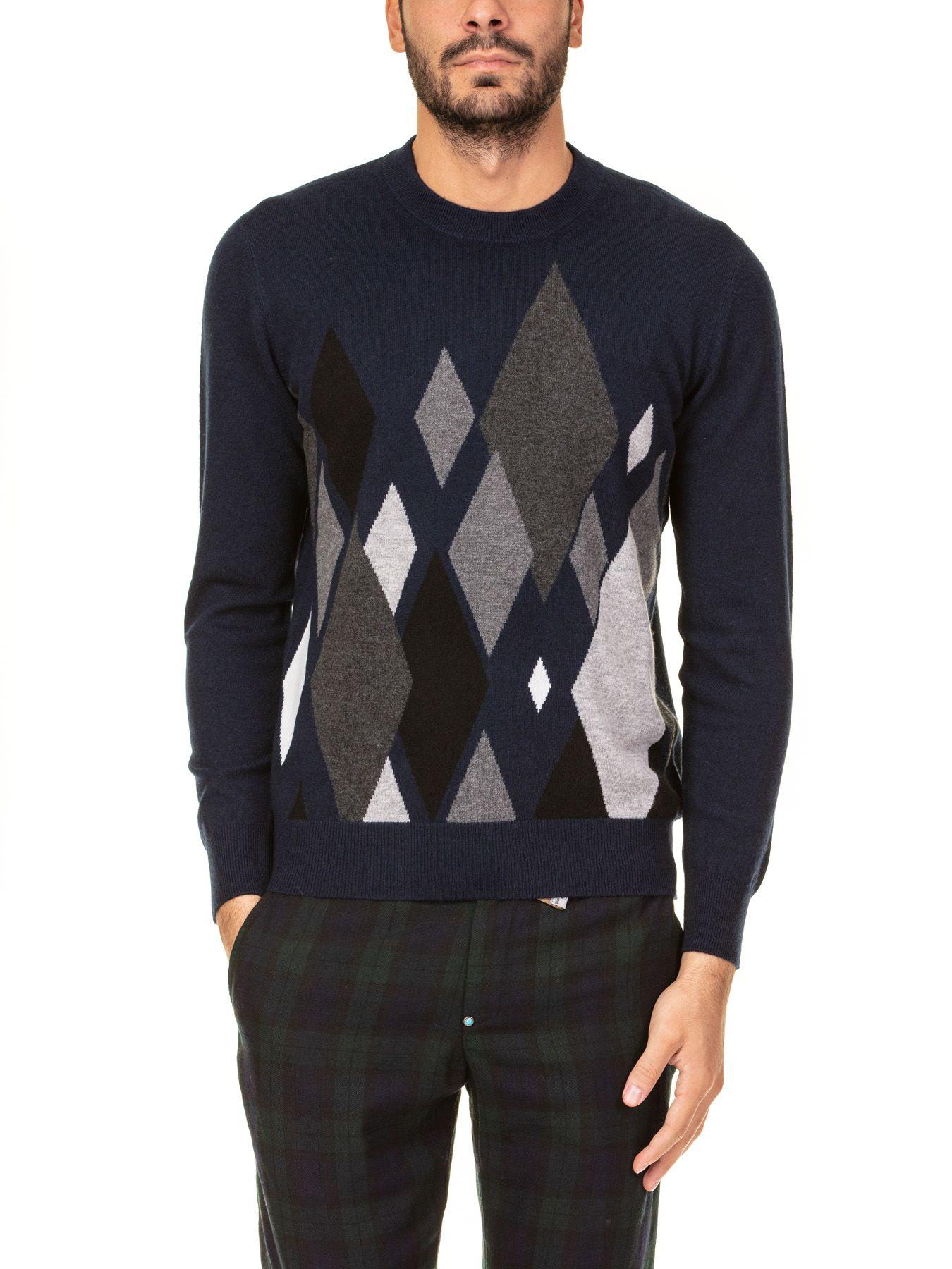 Ballantyne Round Neck Cosmo Diam Sweater