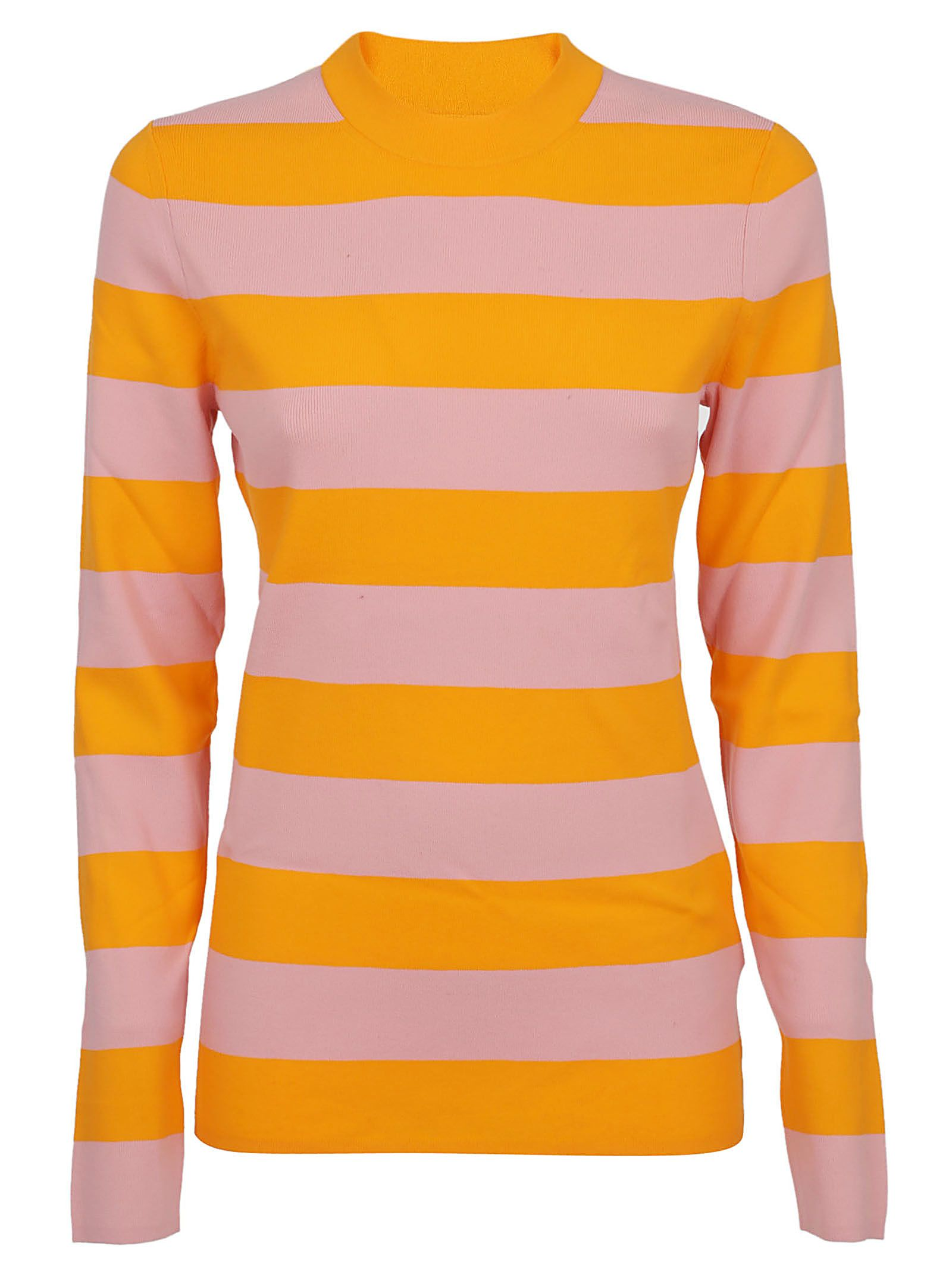 Calvin Klein Striped Fine Knit Sweater