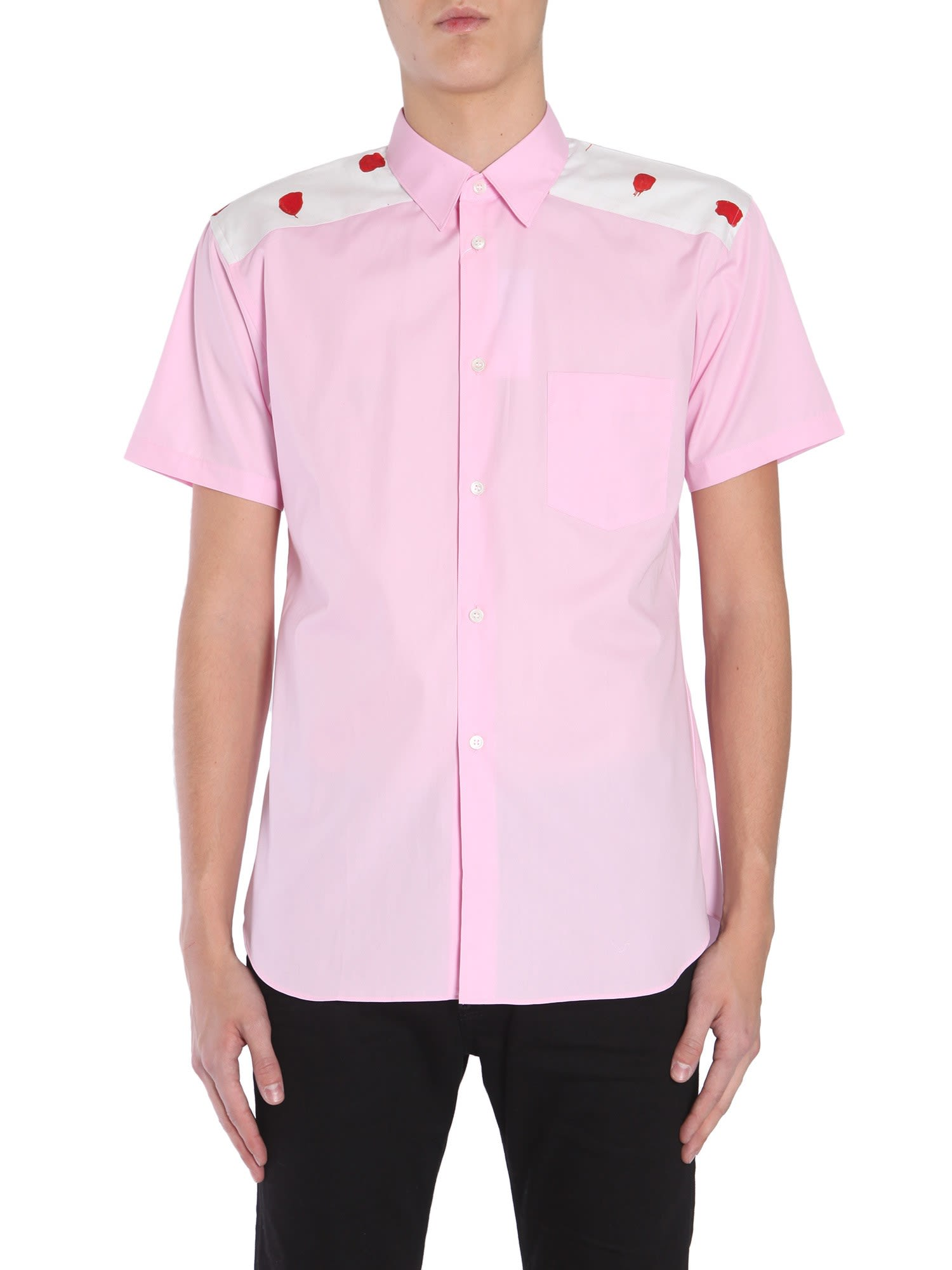 comme des garçons shirt -  Cotton Poplin Shirt