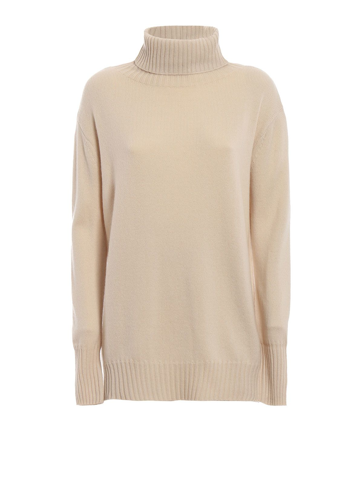 max mara -  Dialogo Wool And Cashmere Over Turtleneck