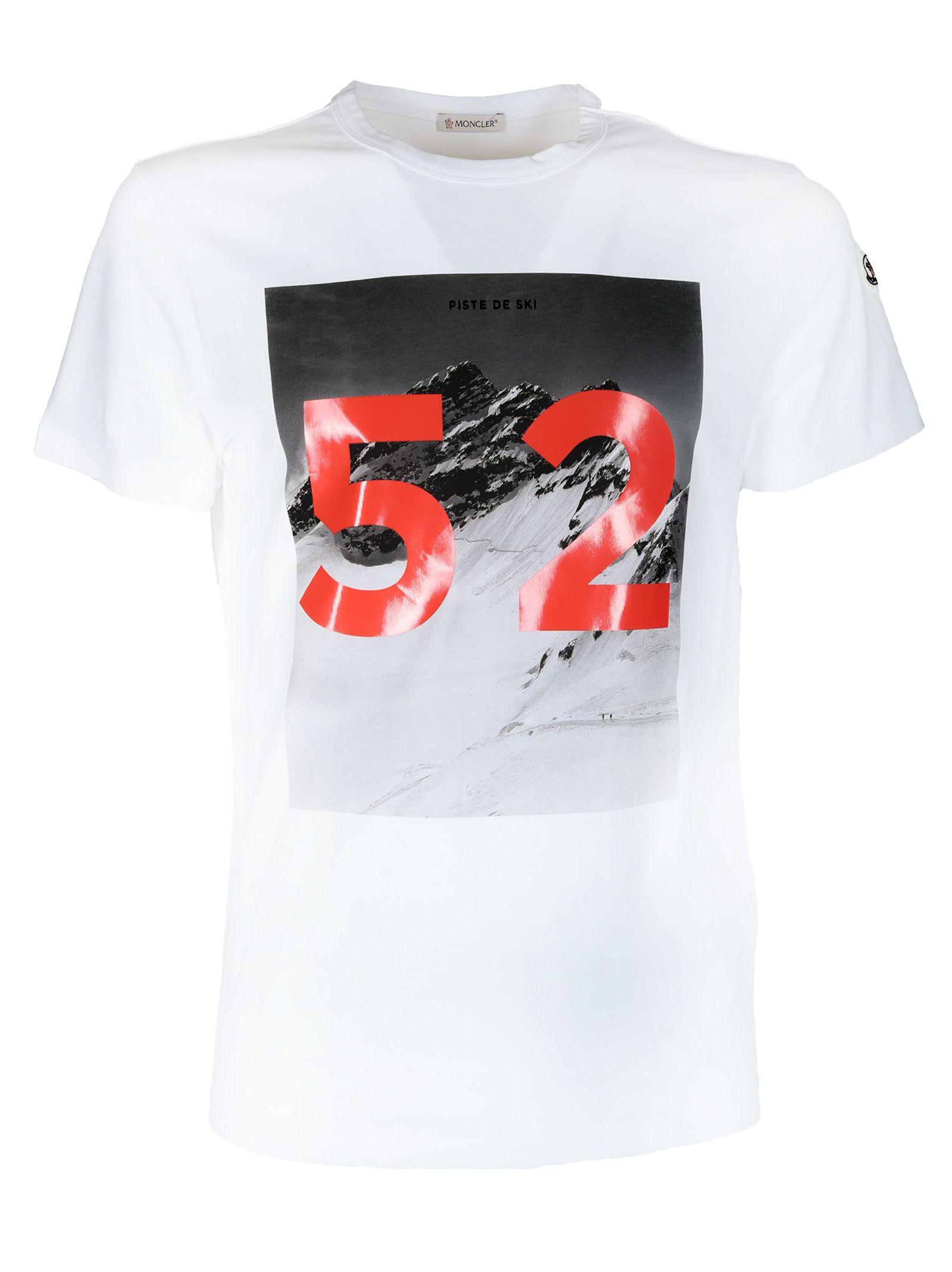 Moncler Graphic Print T-shirt