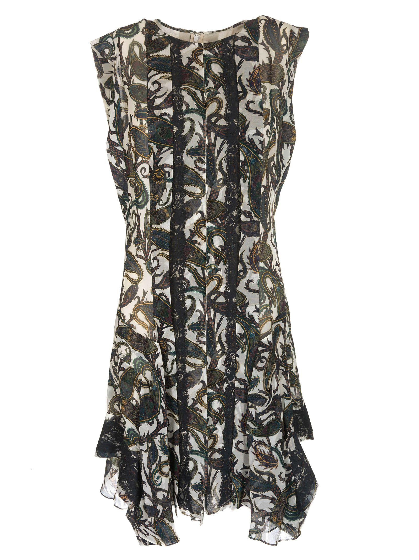 Chloé Paisley Pattern Dress