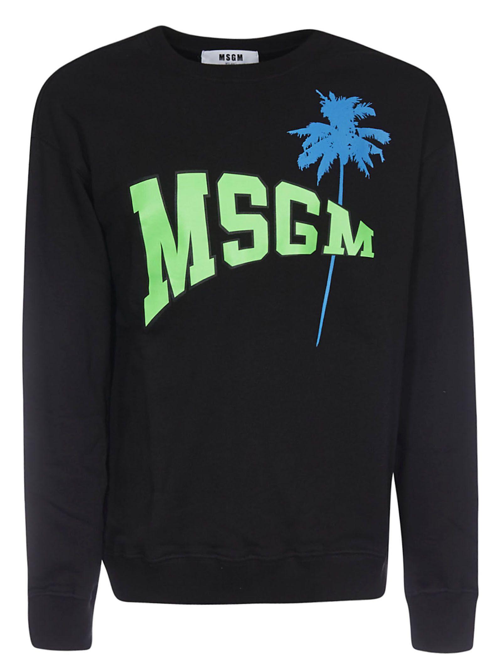 MSGM MSGM Tropical Sweatshirt