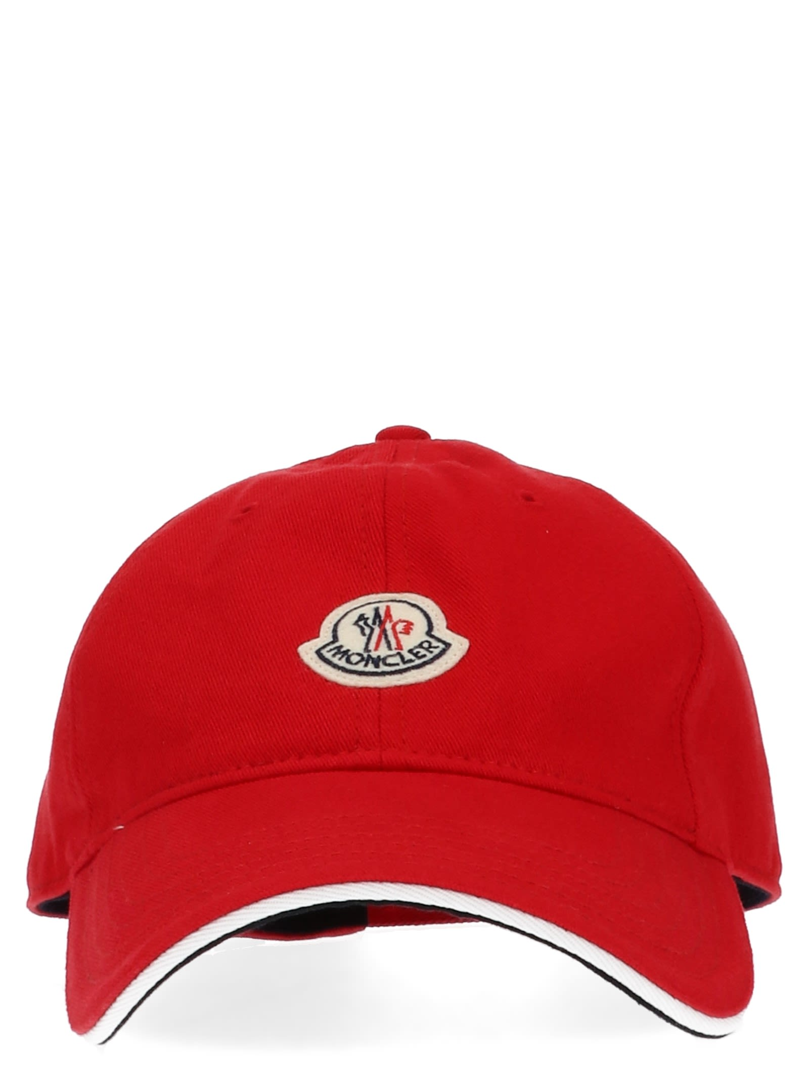 Moncler Cap In Red  8264d2c80ca
