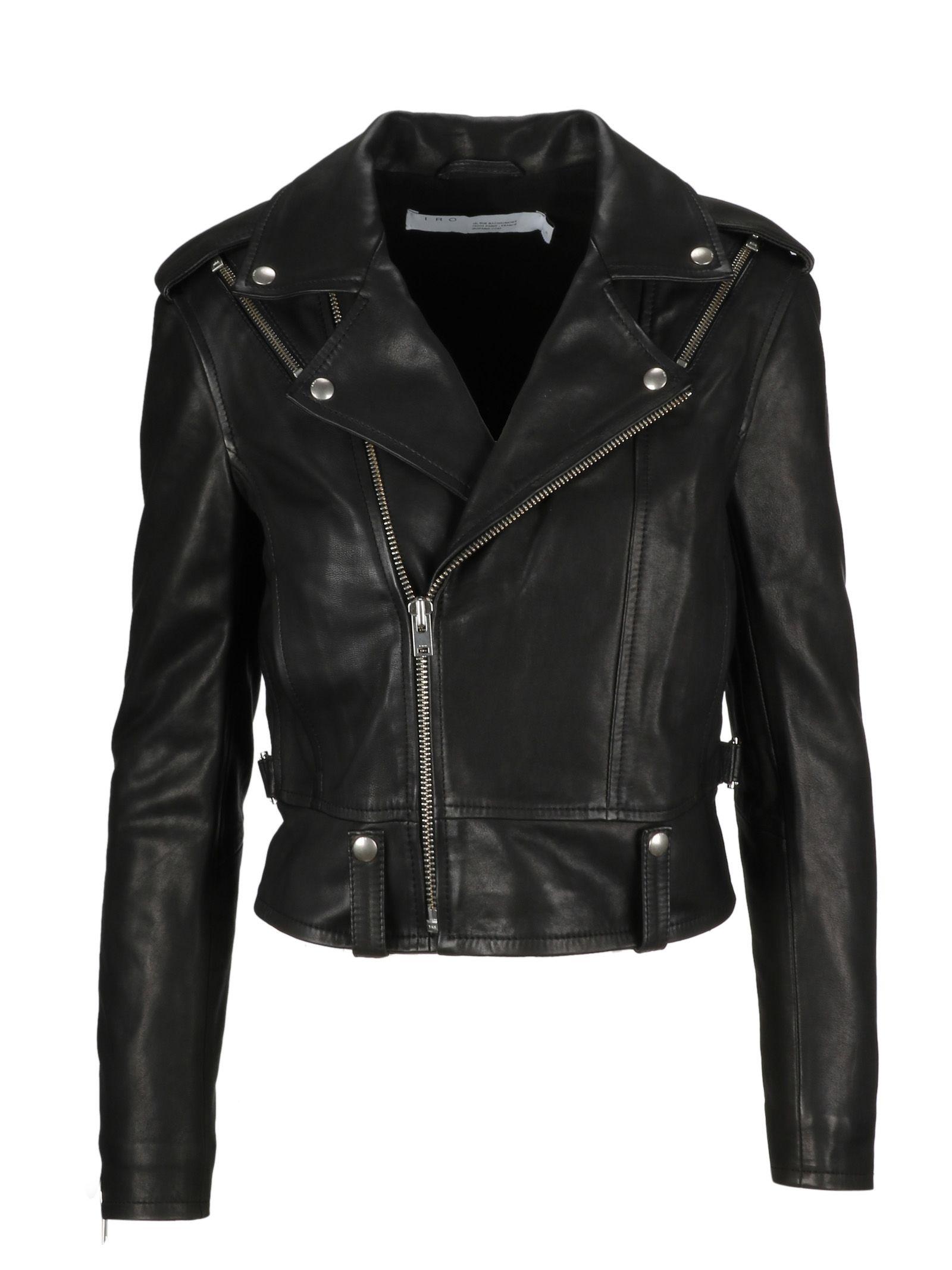 Iro Zip-up Biker Jacket
