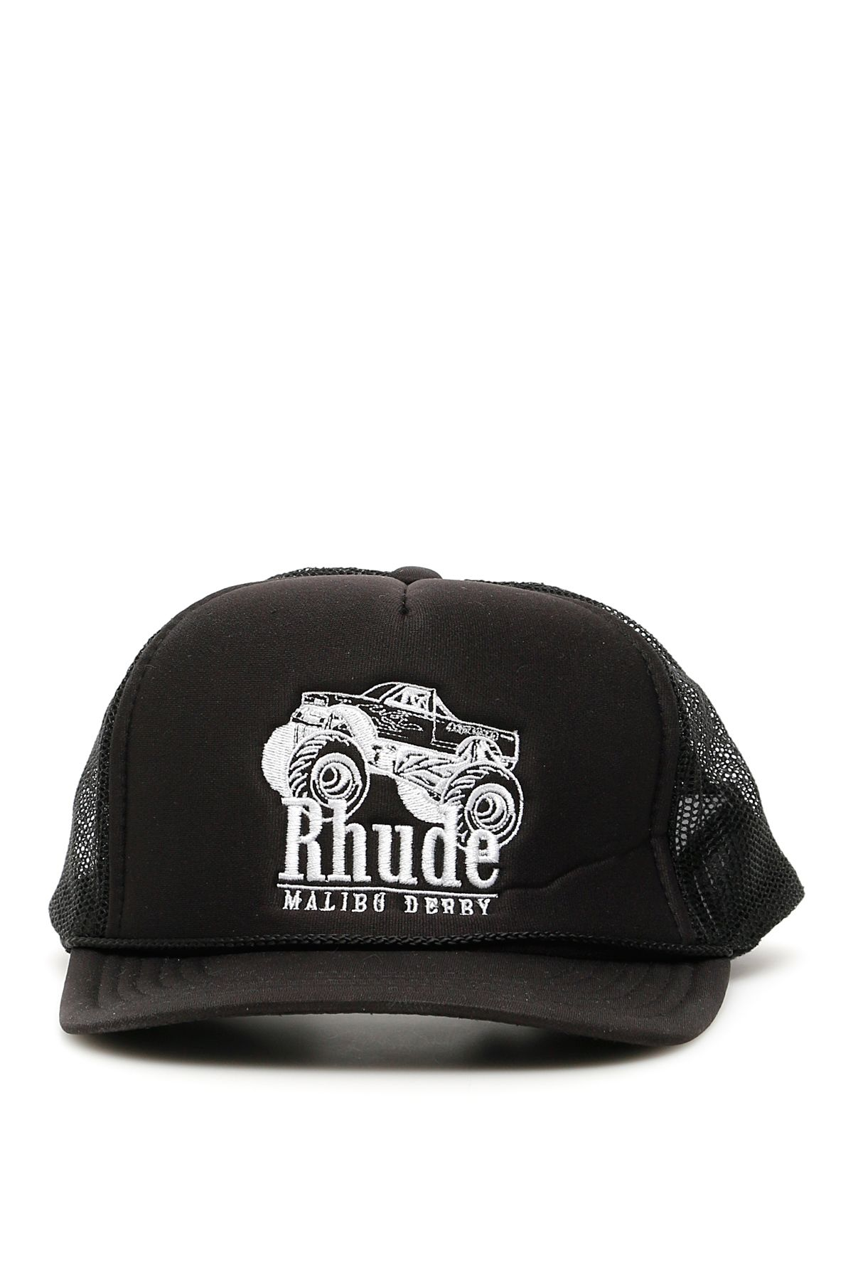 Rhude Malibu Derby Trucker Cap In Basic db33ada313d3