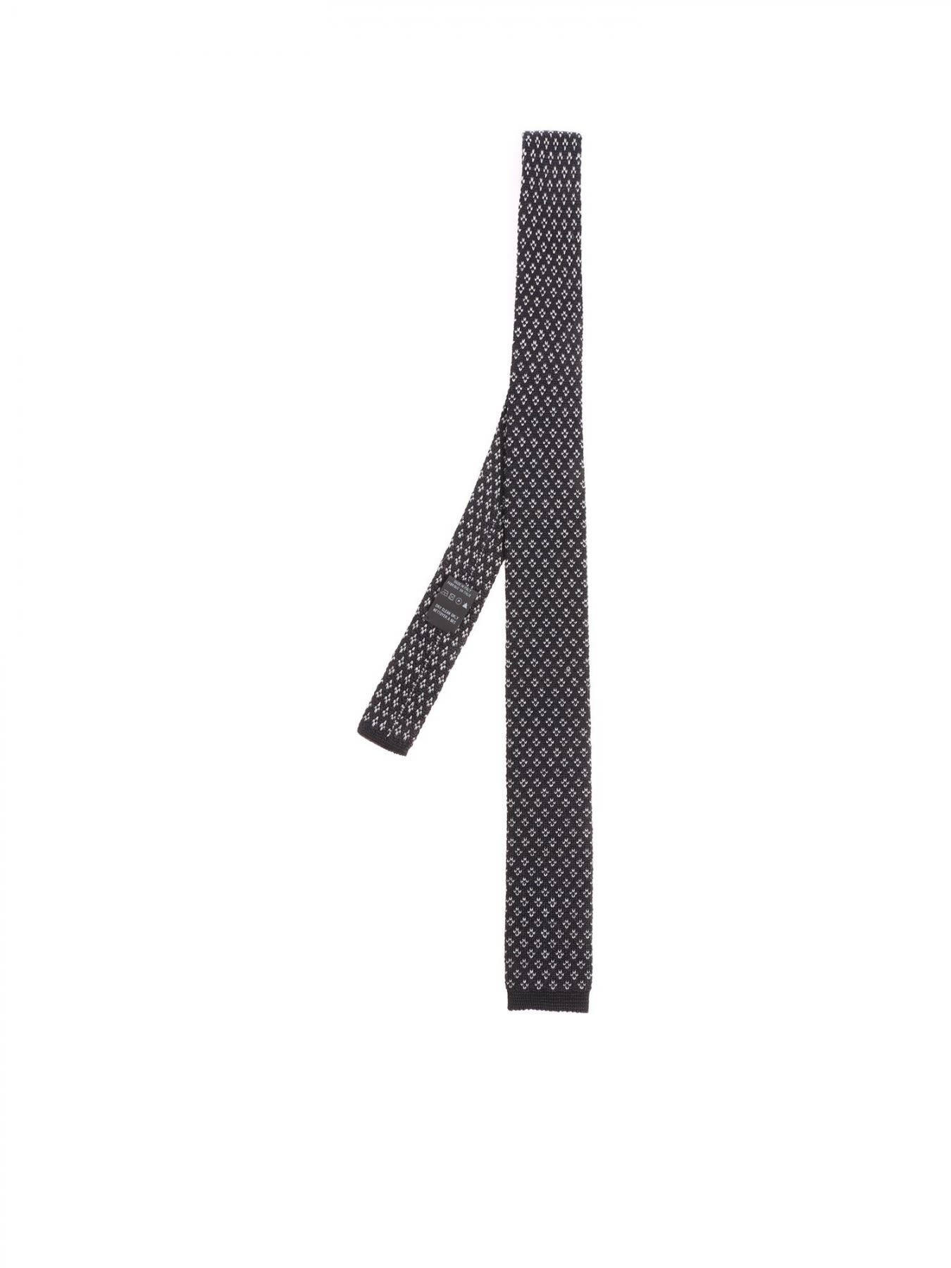 Wool And Silk Tie