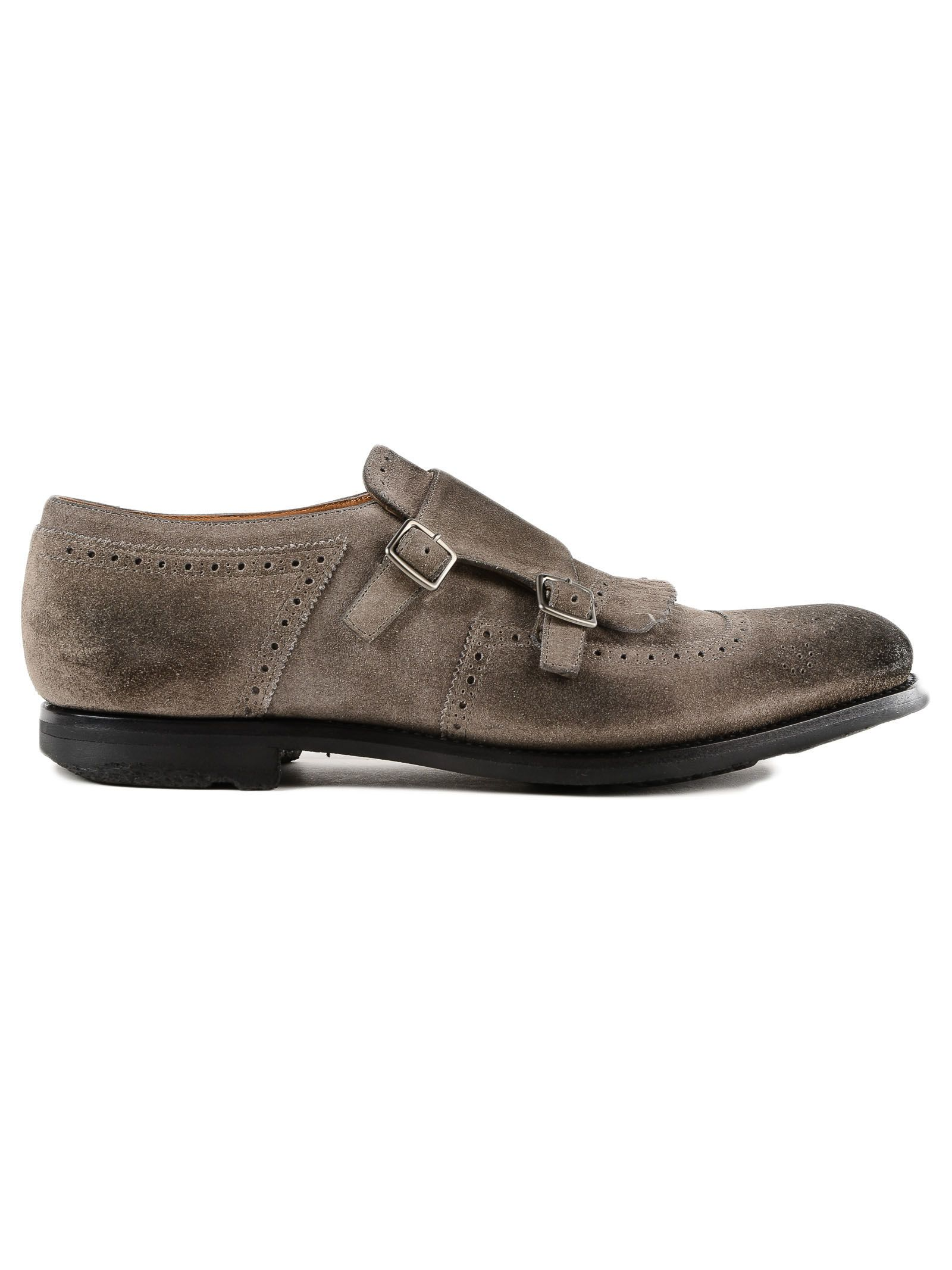 Church's Perforated Monk Shoes