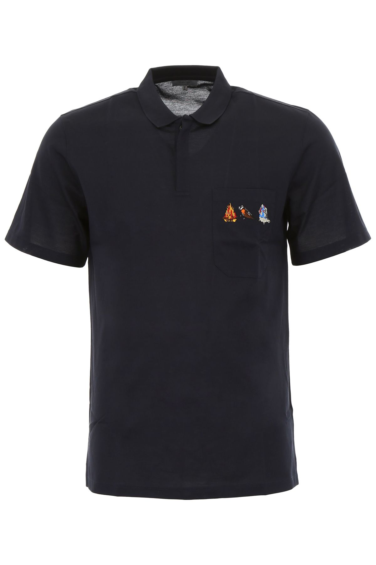 Lanvin Polo Shirt With Pocket