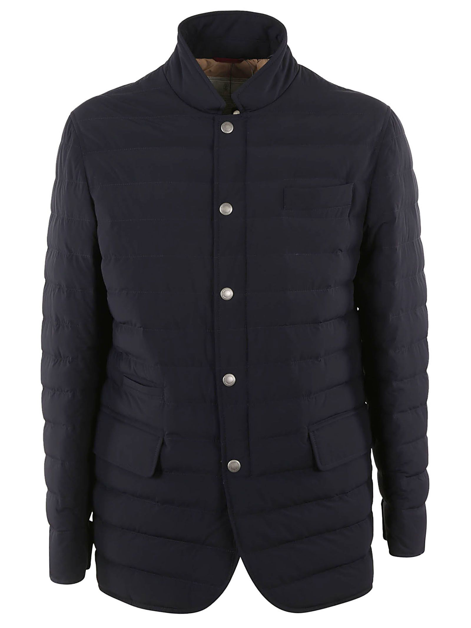 Brunello Cucinelli Buttoned Padded Jacket
