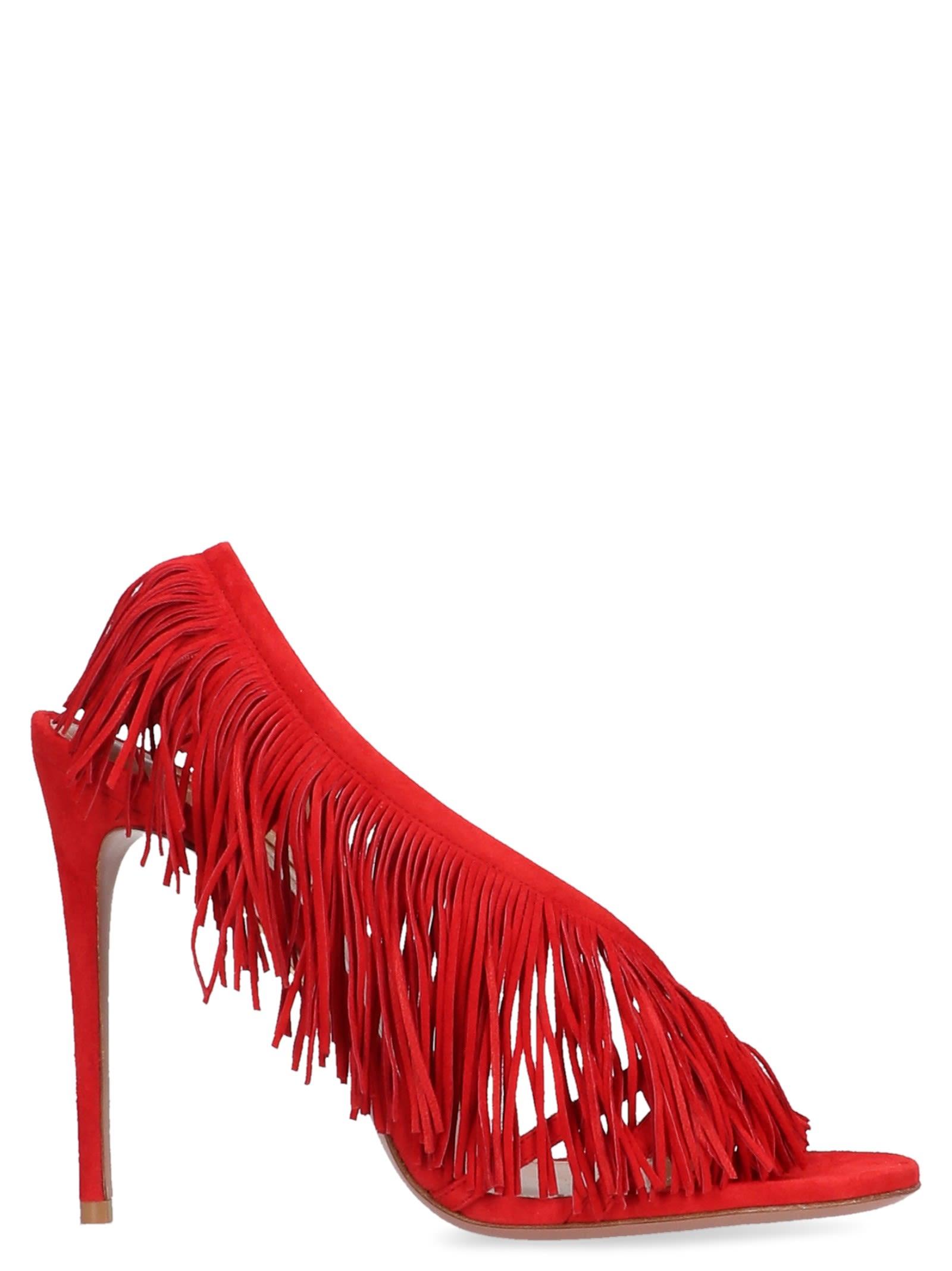 Aquazzura 'wilde Fringe' Sandals