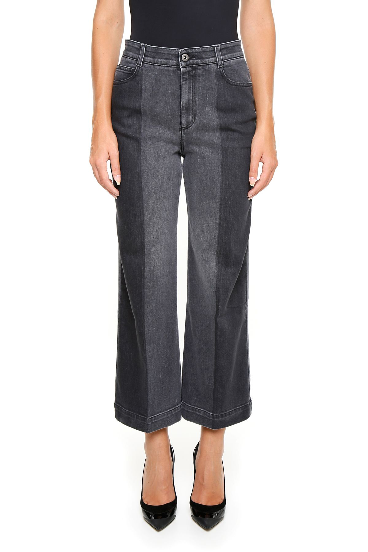 Stella McCartney Bicolor Faded Jeans