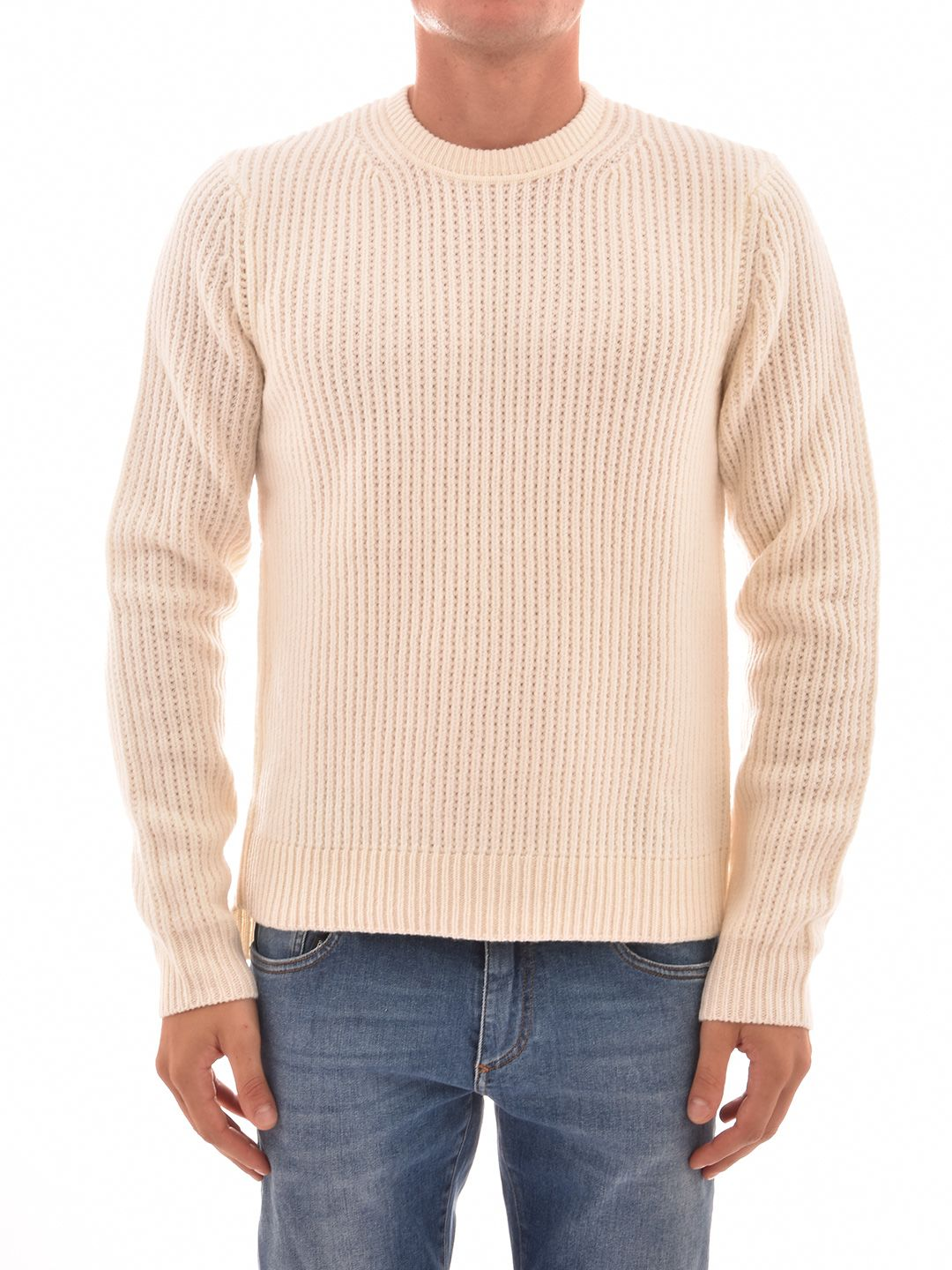 Helmut Lang Ivory Sweater