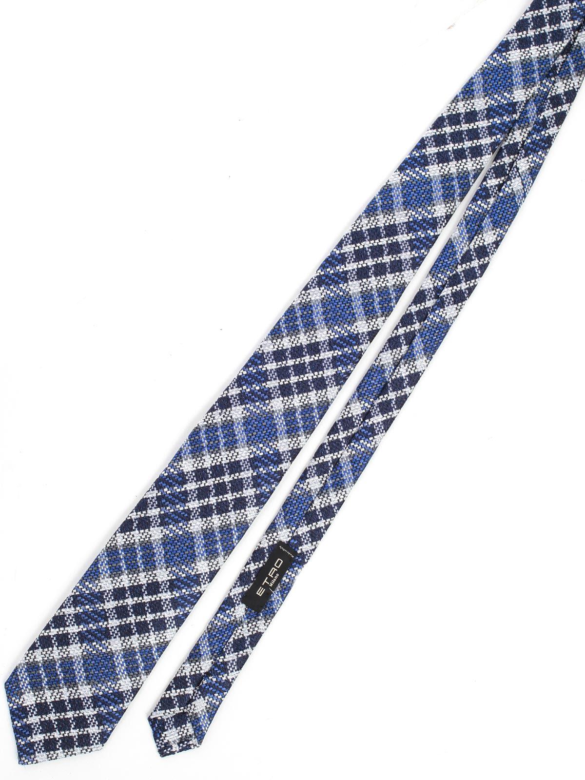 Etro Checked Tie