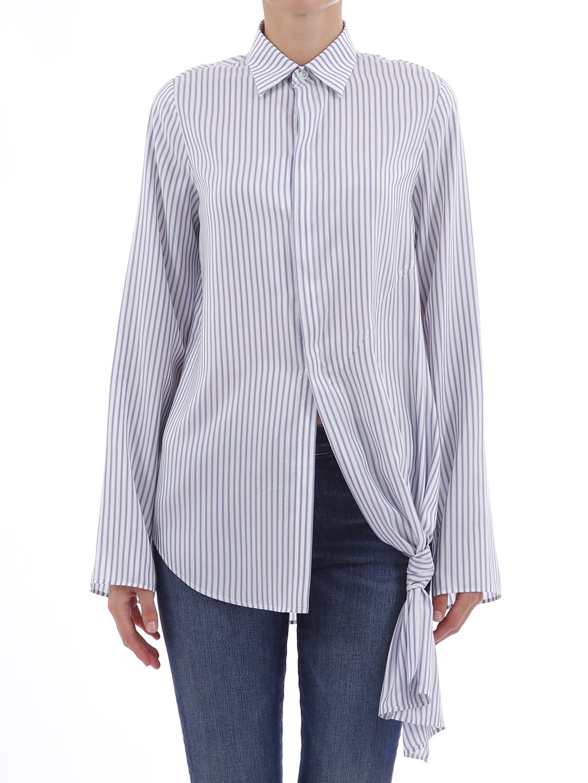 Loewe Knot Shirt Blue/white