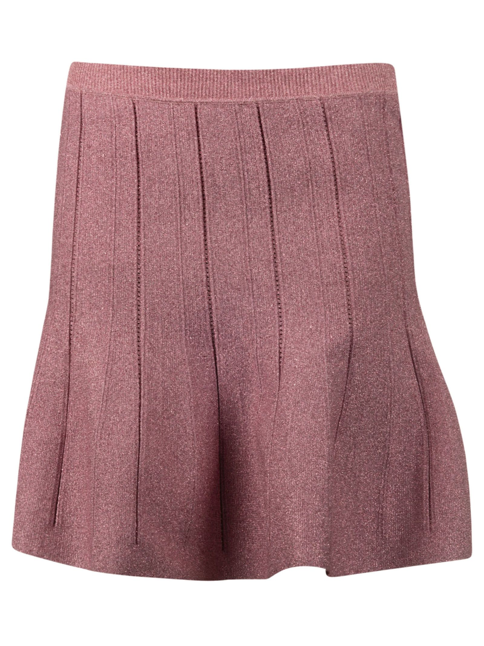 Alberta Ferretti Flared Short Skirt