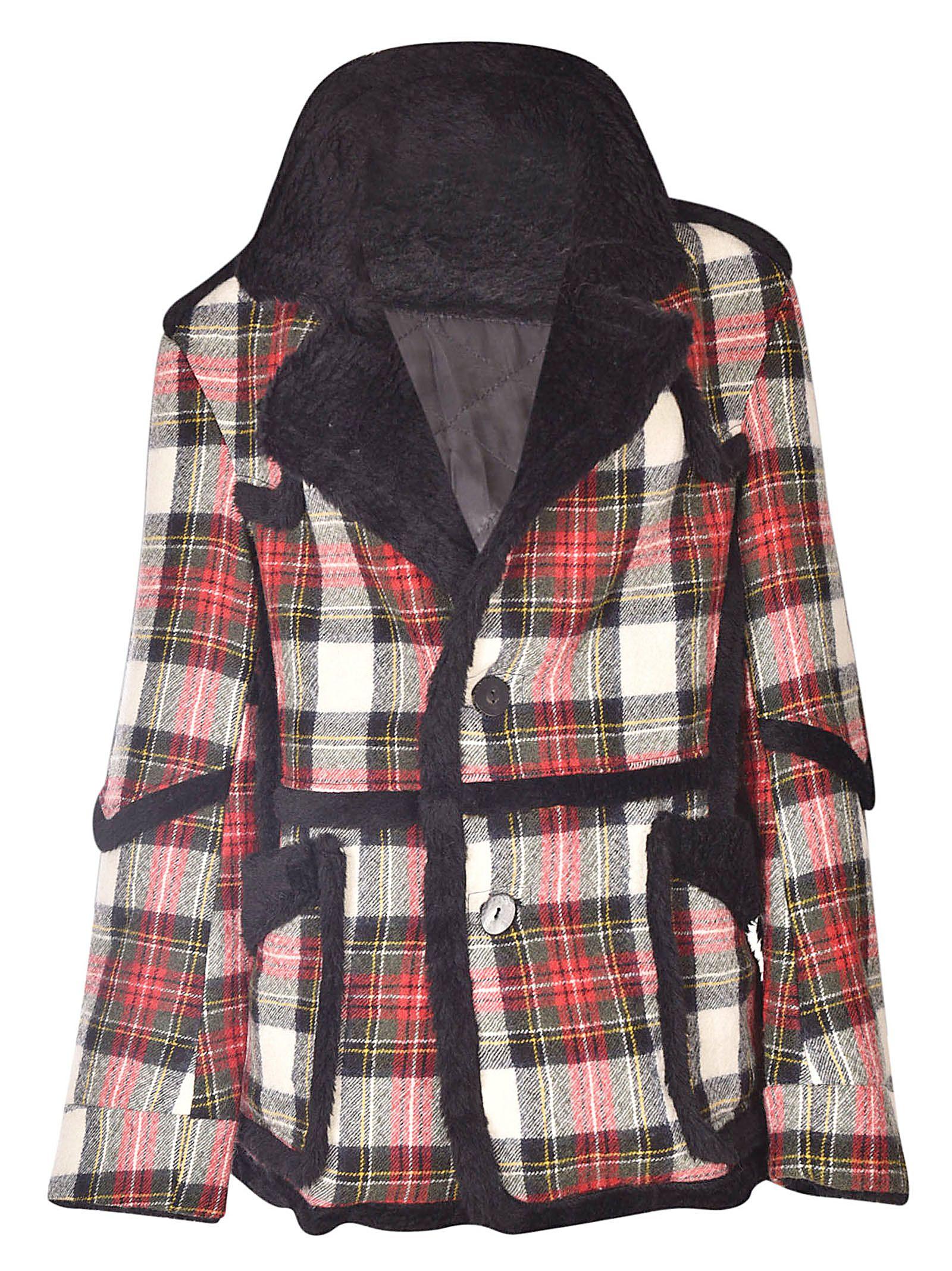R13 Plaid Jacket