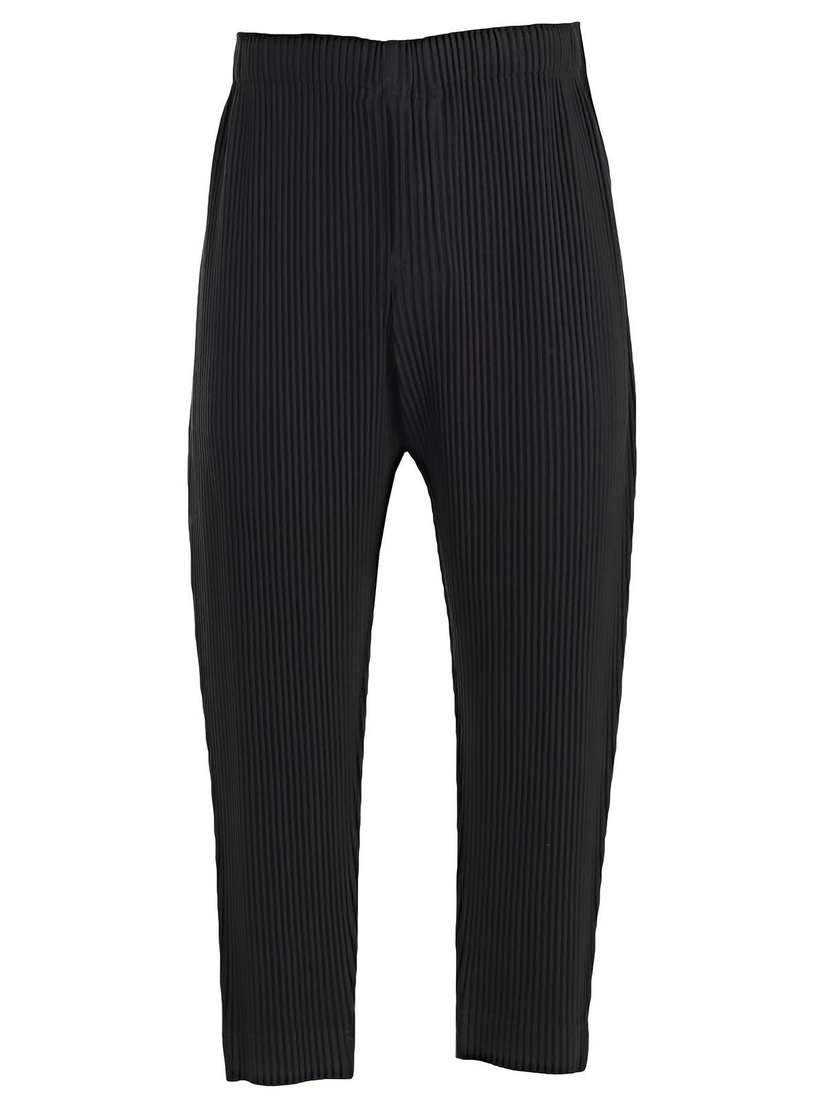 Pleats Please Issey Miyake Straight Leg Trousers