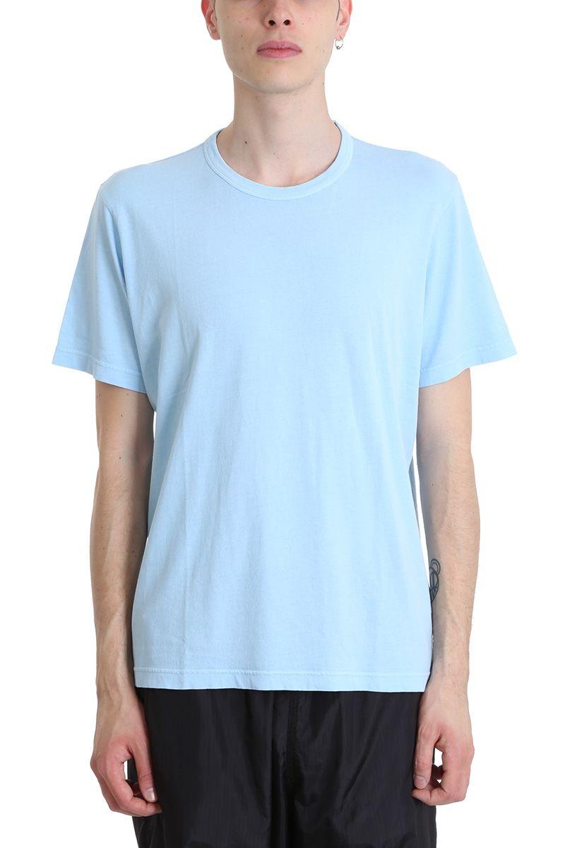 Our Legacy Light Blue Cotton T-shirt
