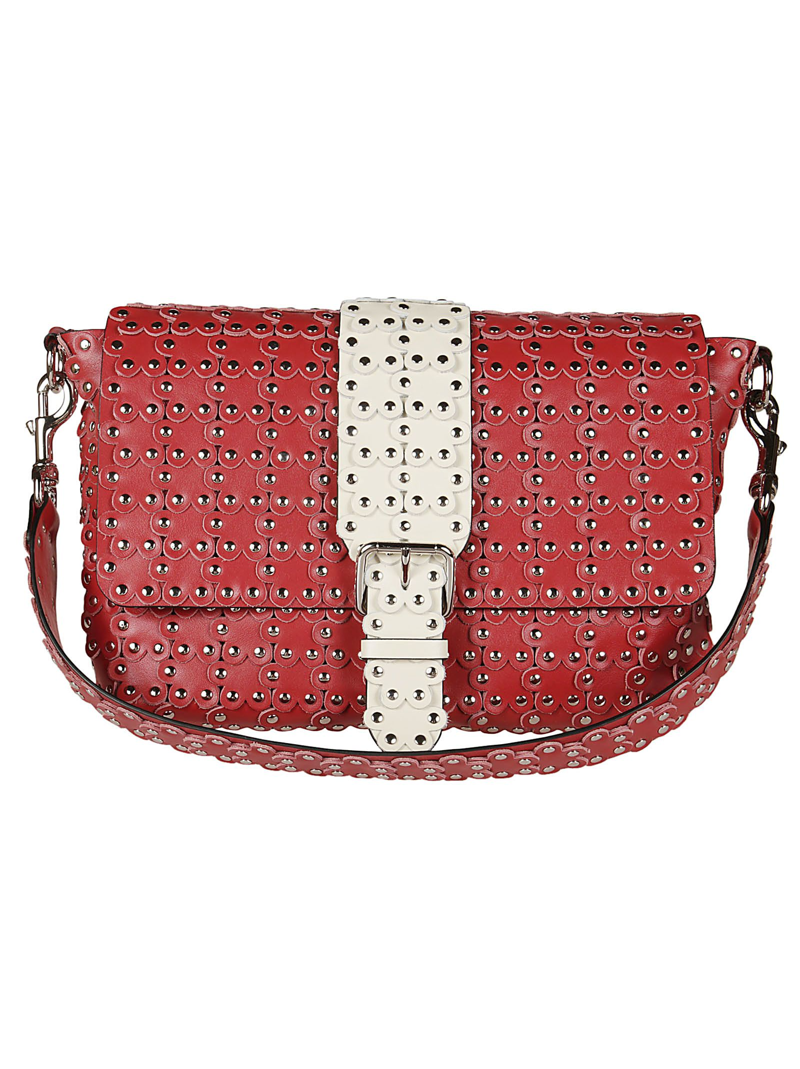 Red Valentino Studded Shoulder Bag