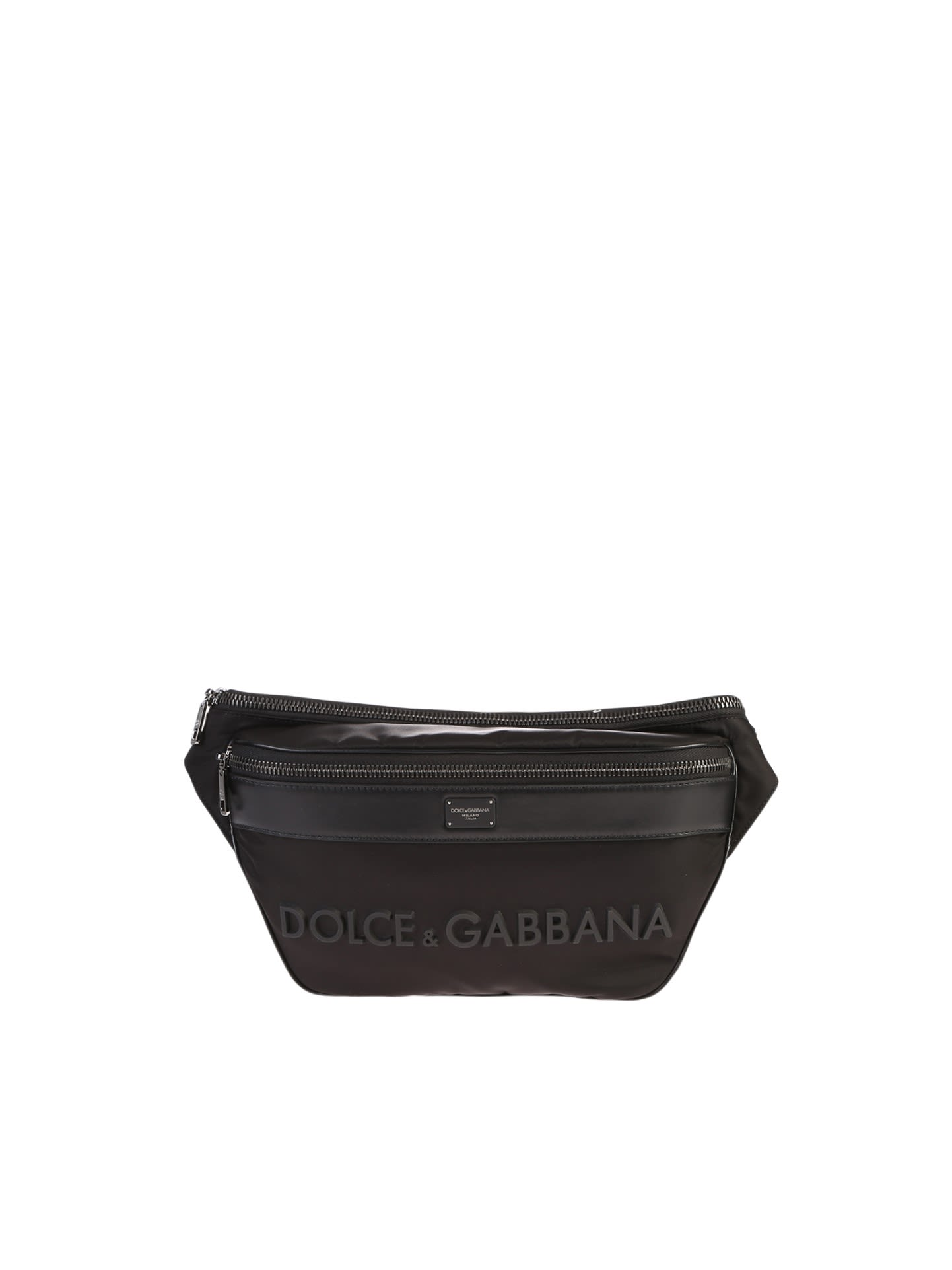 Dolce & Gabbana Branded Belt Bag