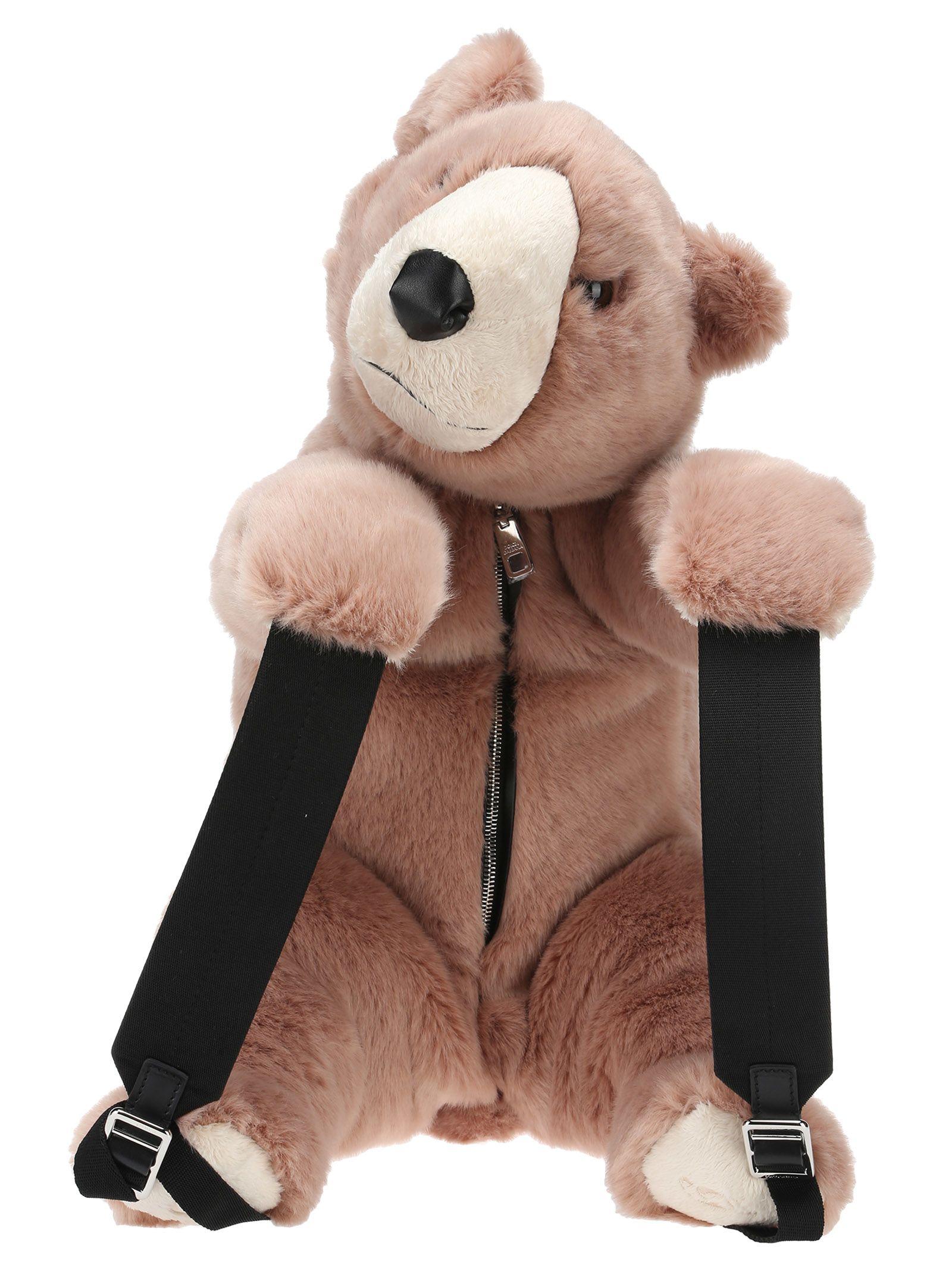 Dolce & Gabbana Backpack Bear in Pink