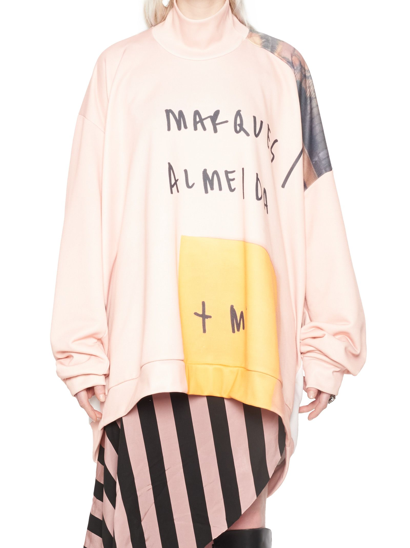 Marques'almeida 'power Woman' Sweatshirt