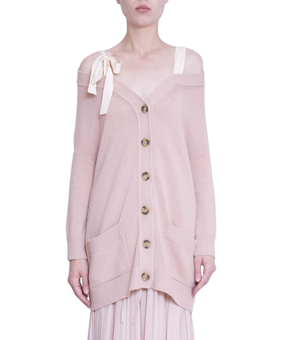 RED Valentino Oversized Wool Cardigan