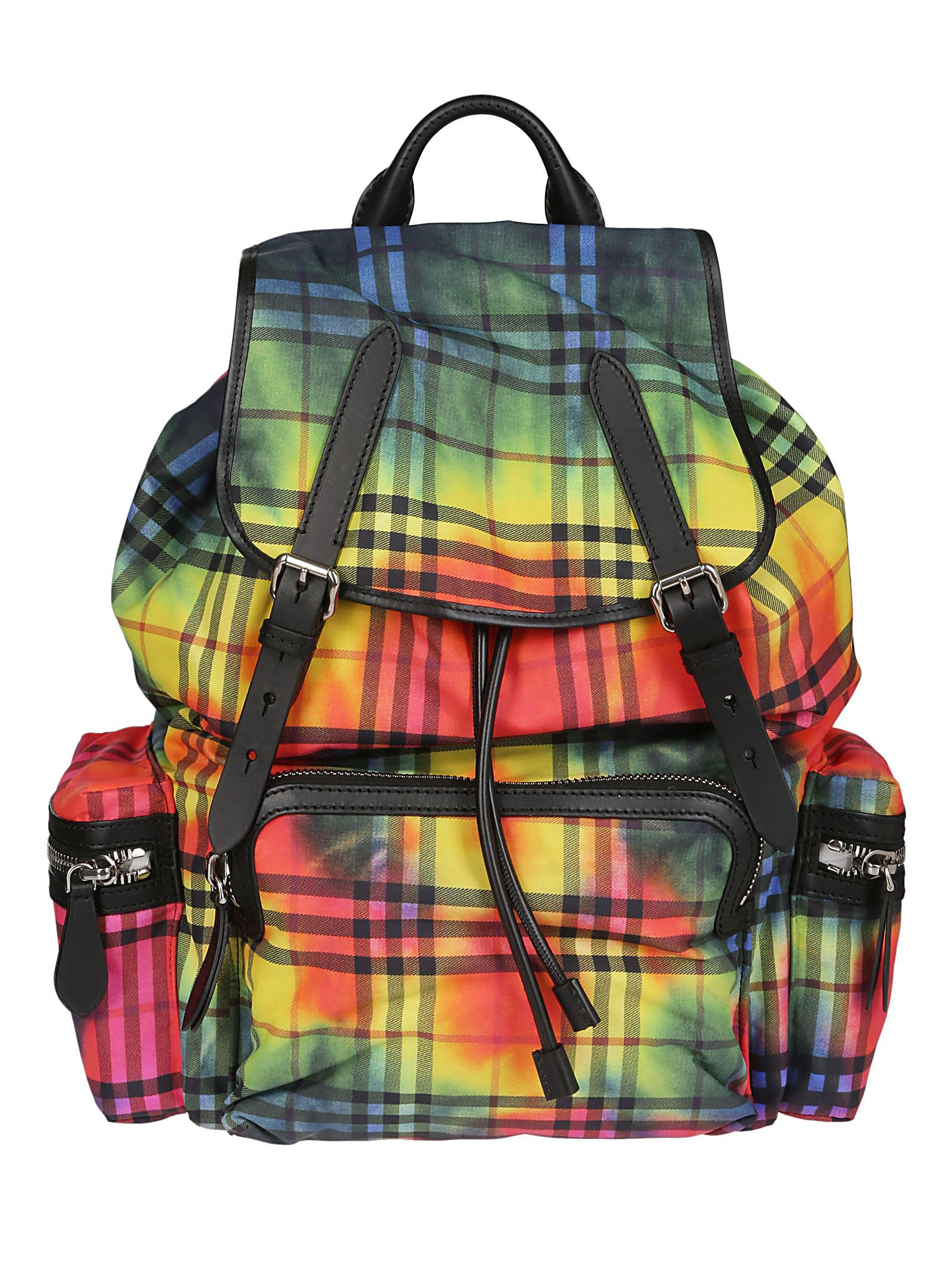 Burberry Tie-dye Vintage Check Backpack