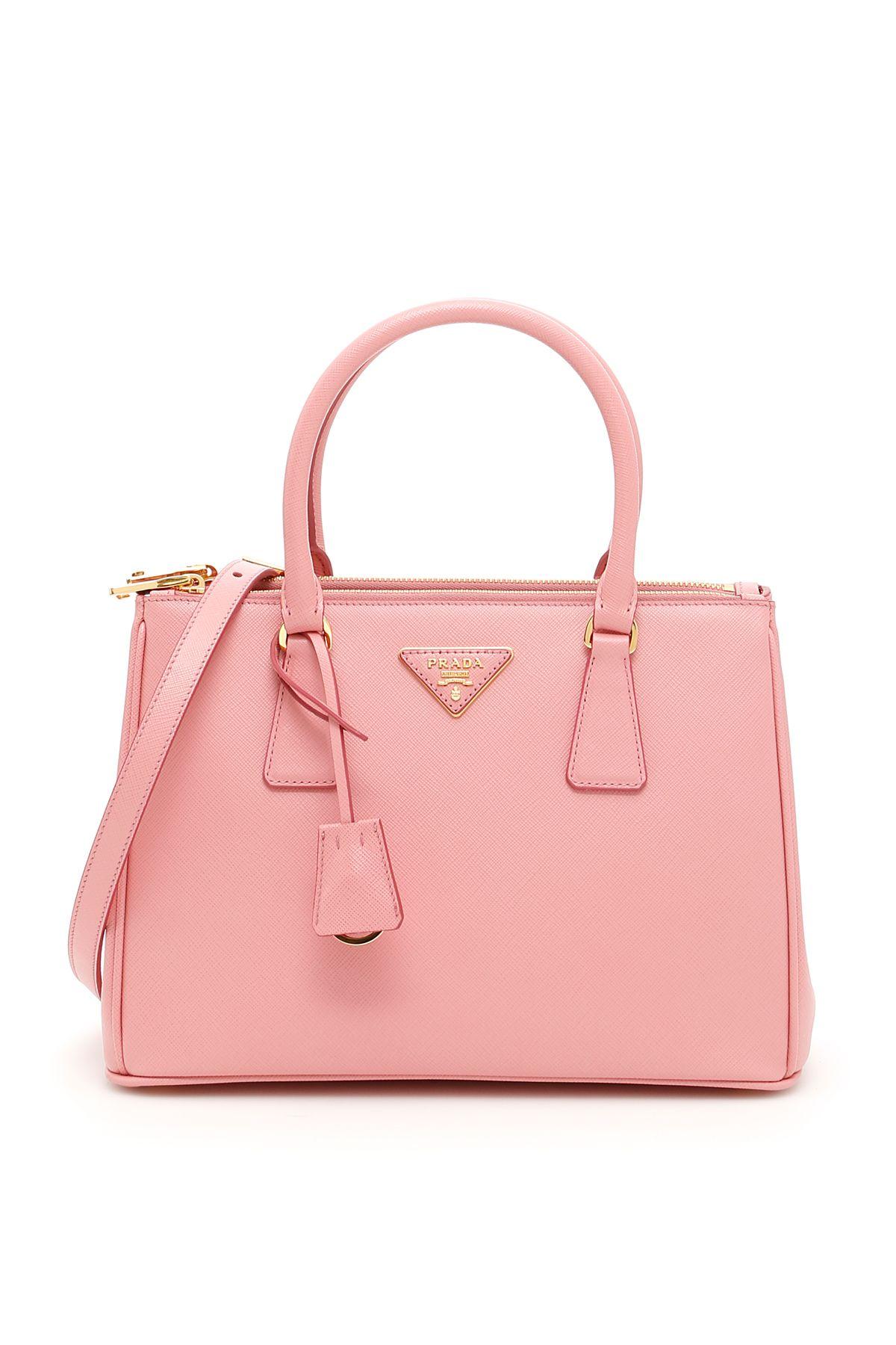 8879d53dcee2 Prada Saffiano Lux Galleria Bag In Petalo