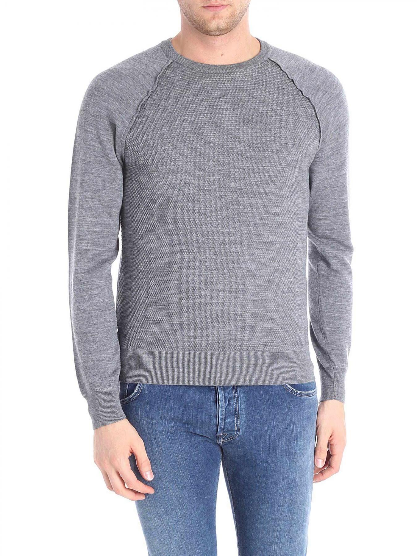 Round Neck Wool Cotton