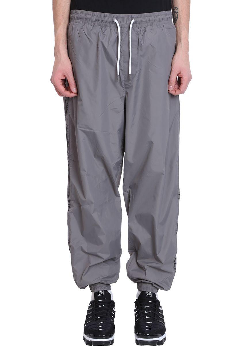 Calvin Klein Jeans Grey Nylon Pants