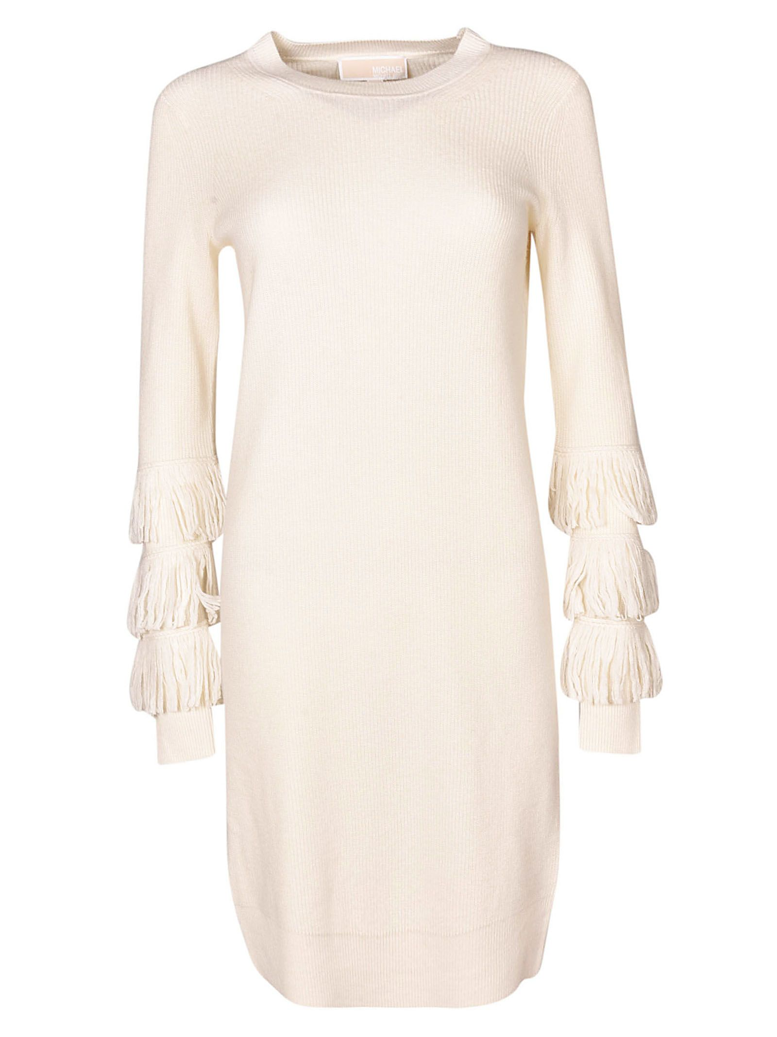 Michael Kors Tassel Sleeve Knitted Dress