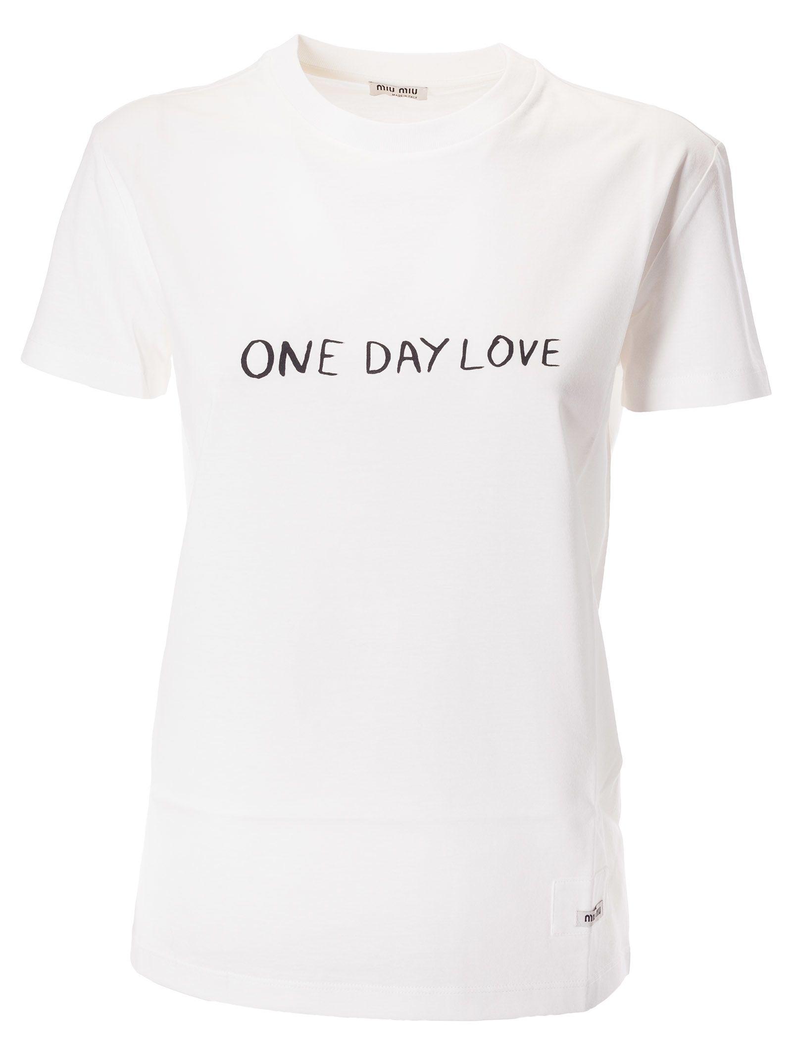 Miu Miu ONE DAY LOVE T-SHIRT