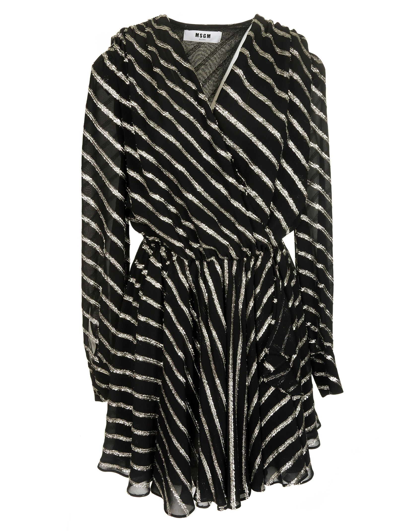 Msgm Striped Dress